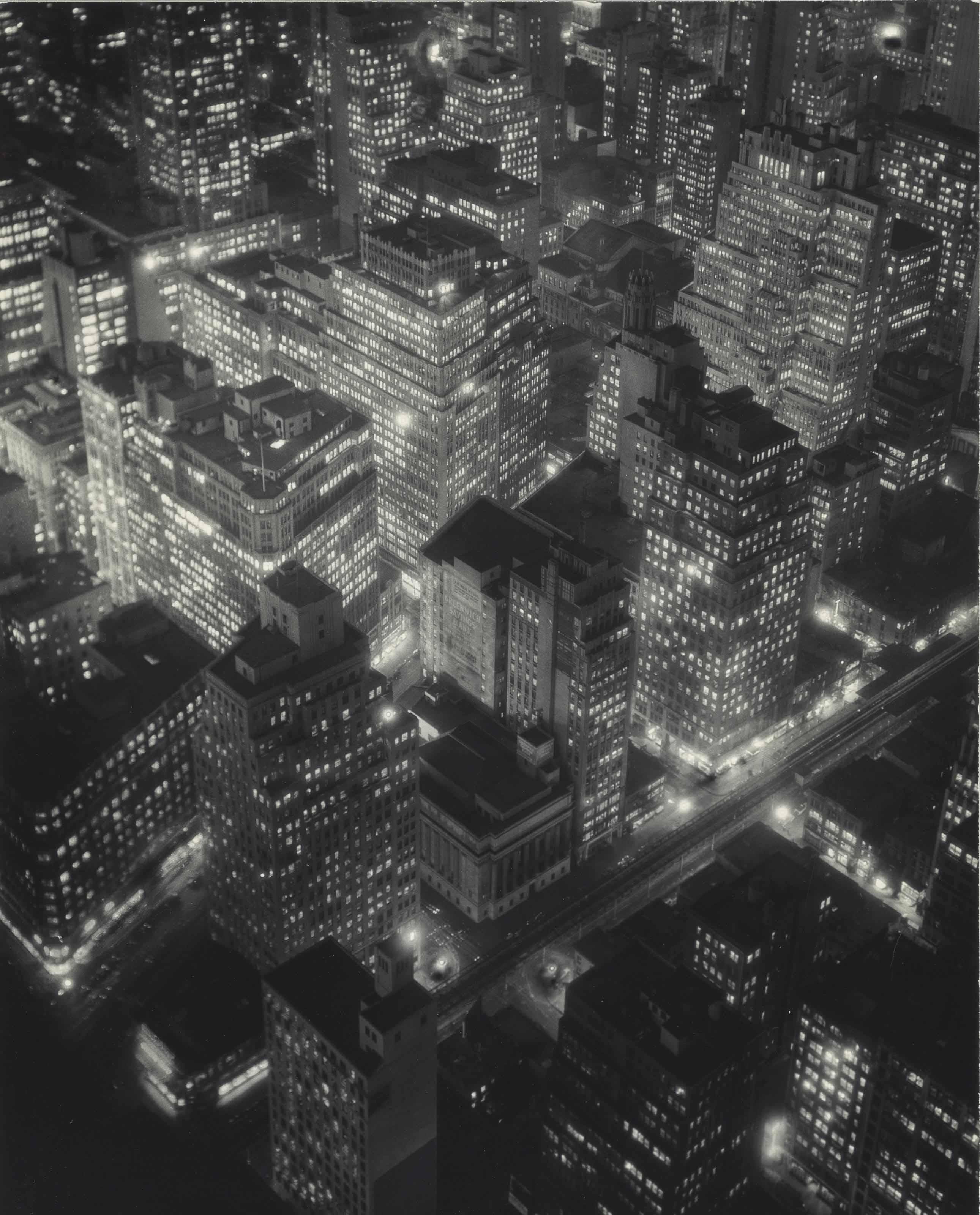 New York at Night, 1932