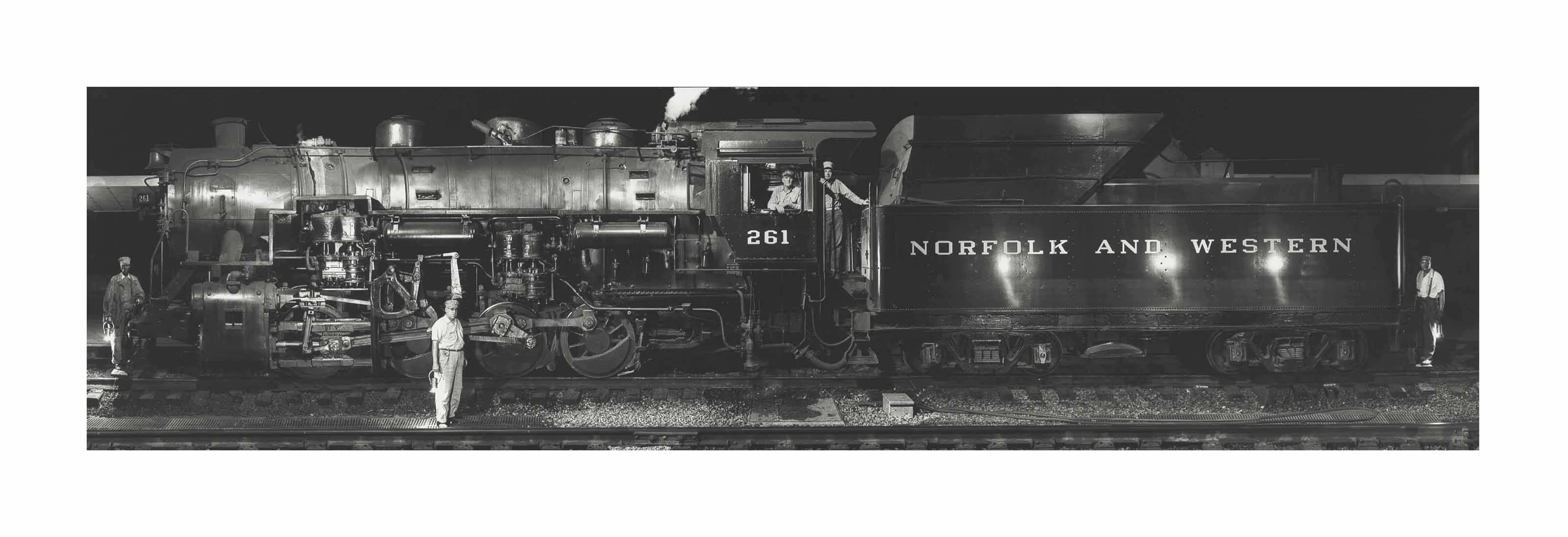 Norfolk & Western Engine Class, S1a, No. 26, 1958