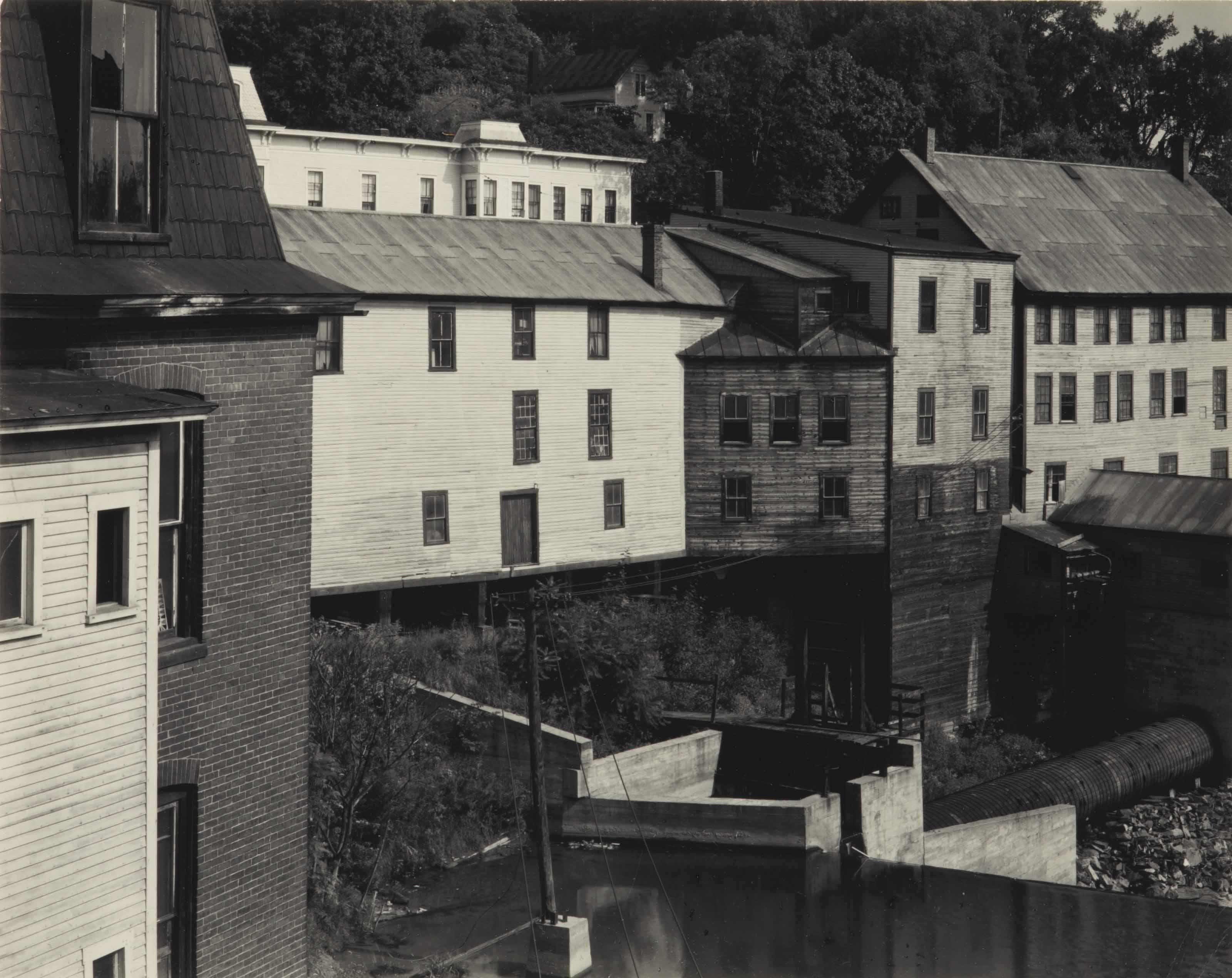 Mill Dam, New England, 1945