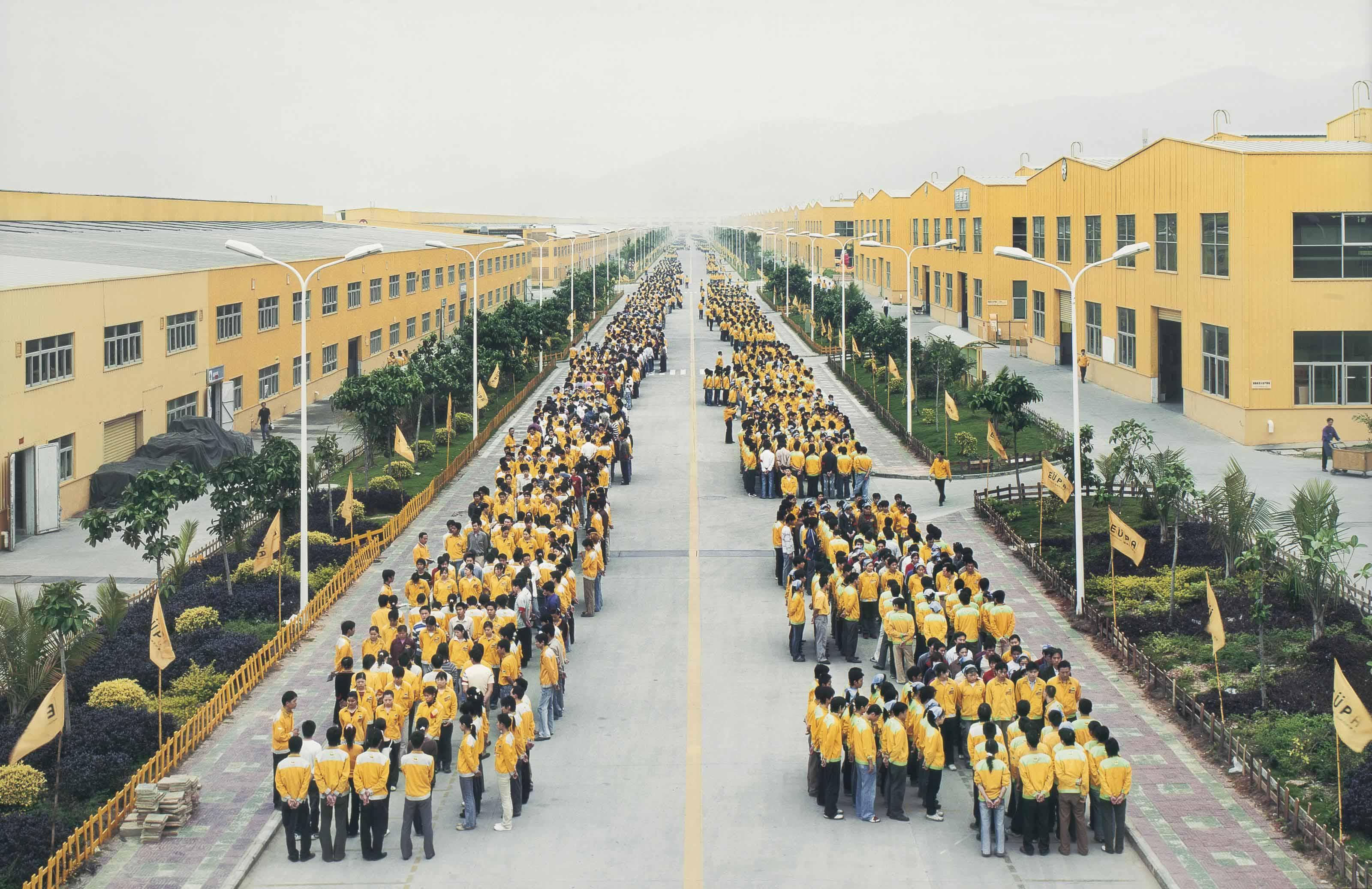 Manufacturing #18, Cankun factory, Zhangzhou Fujian Province, China, 2005
