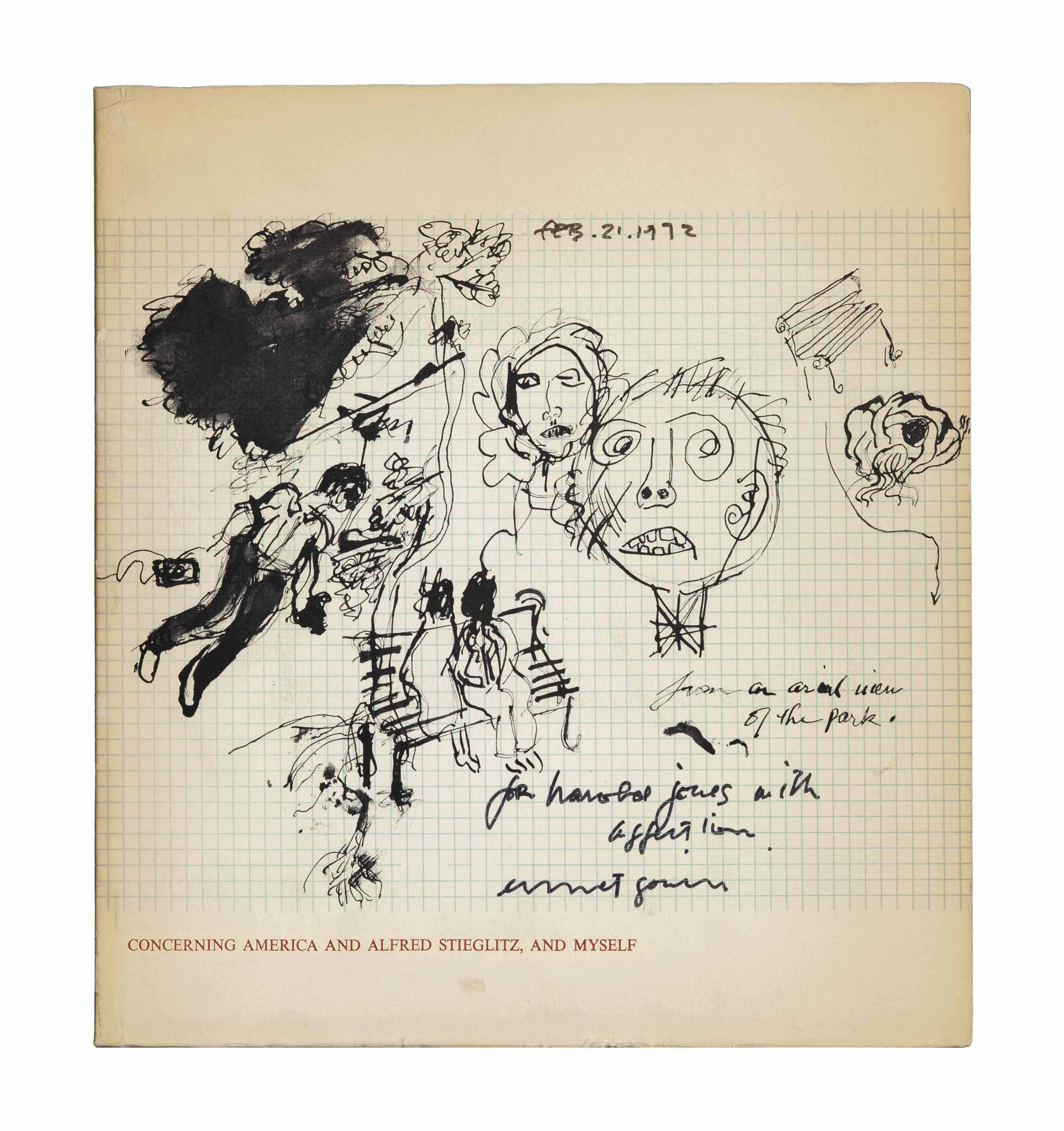 'Concerning America and Alfred Stieglitz, and Myself'