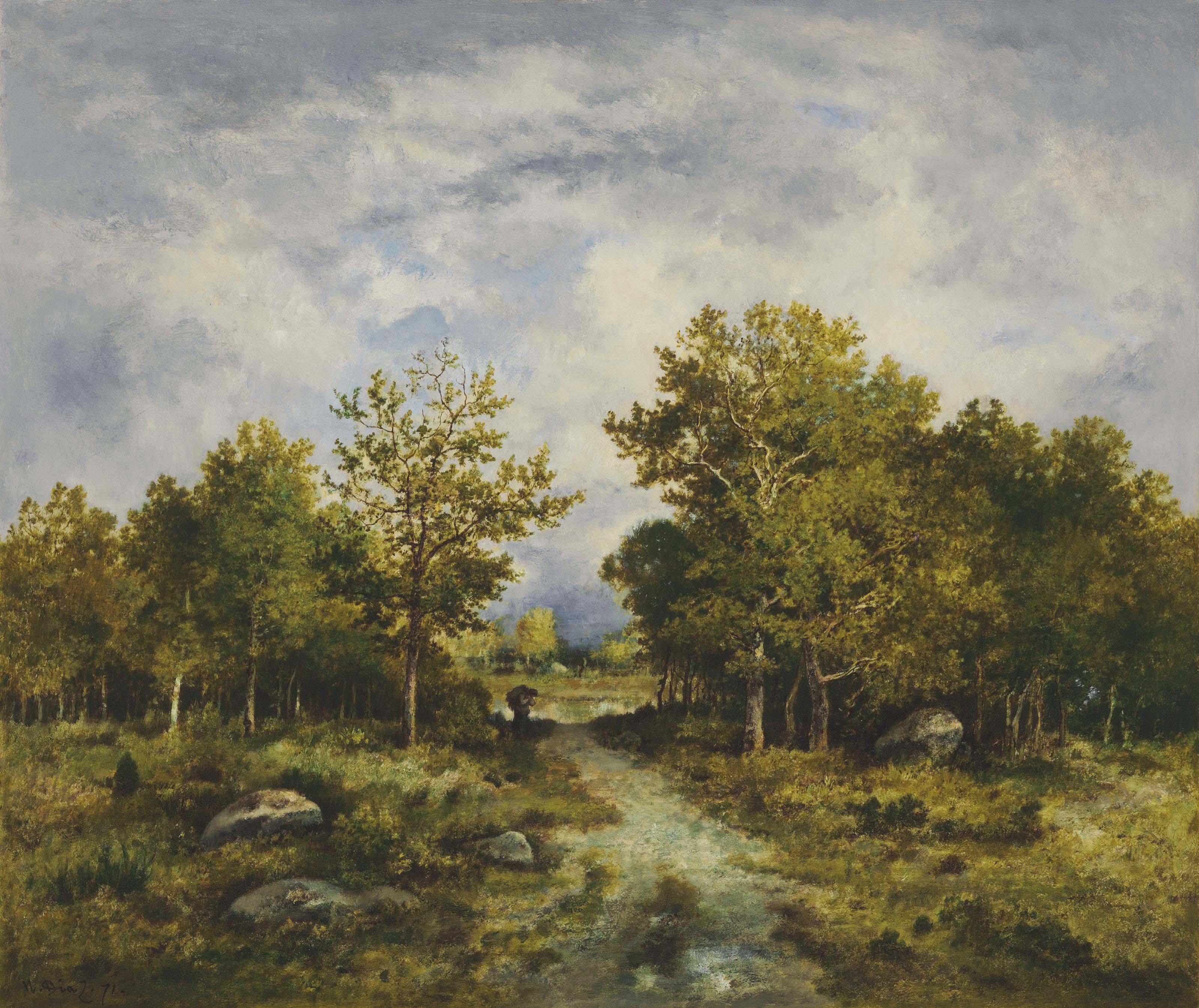 Lisière de forêt