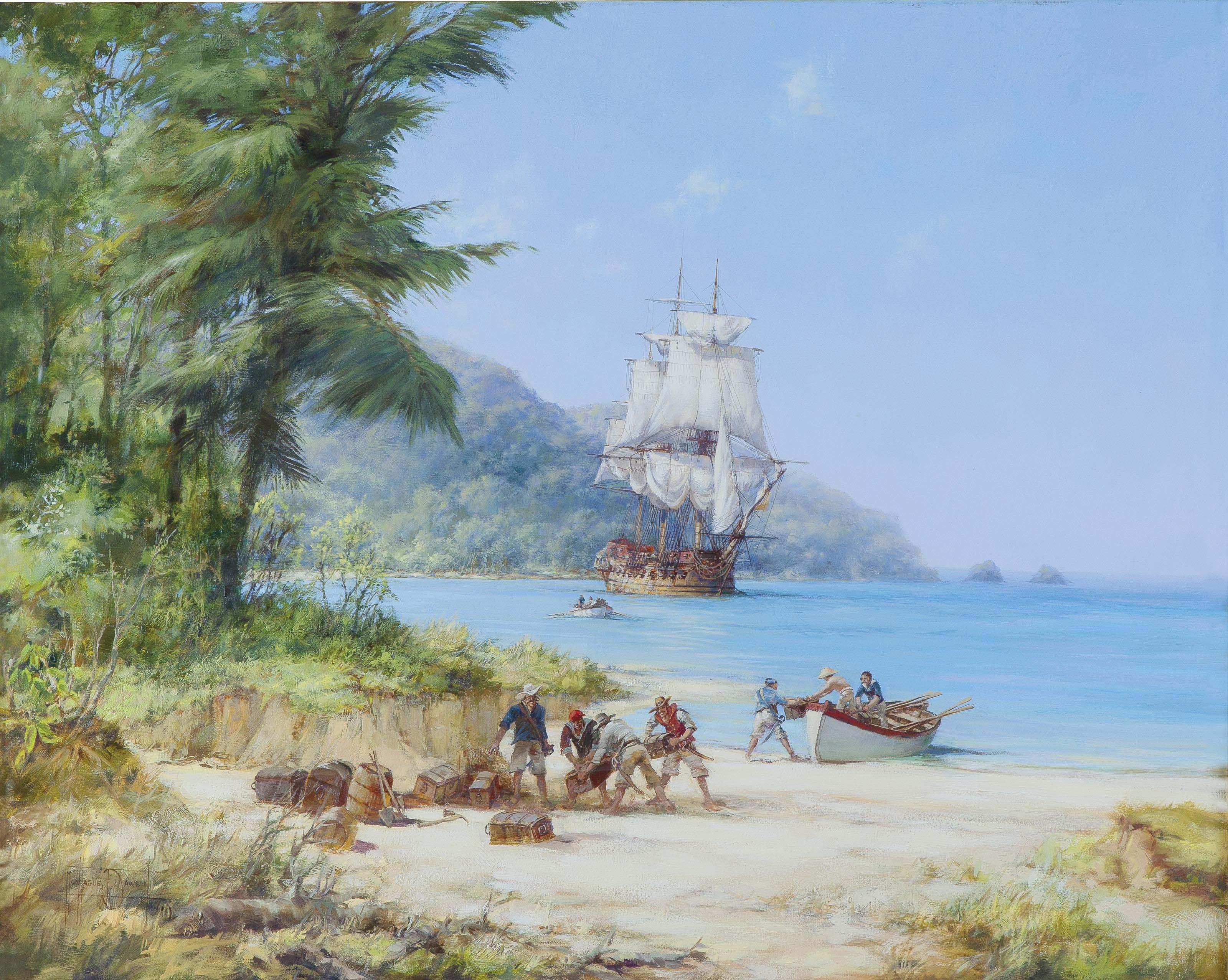 Henry Morgan's Ship off Gorgona in the Pacific