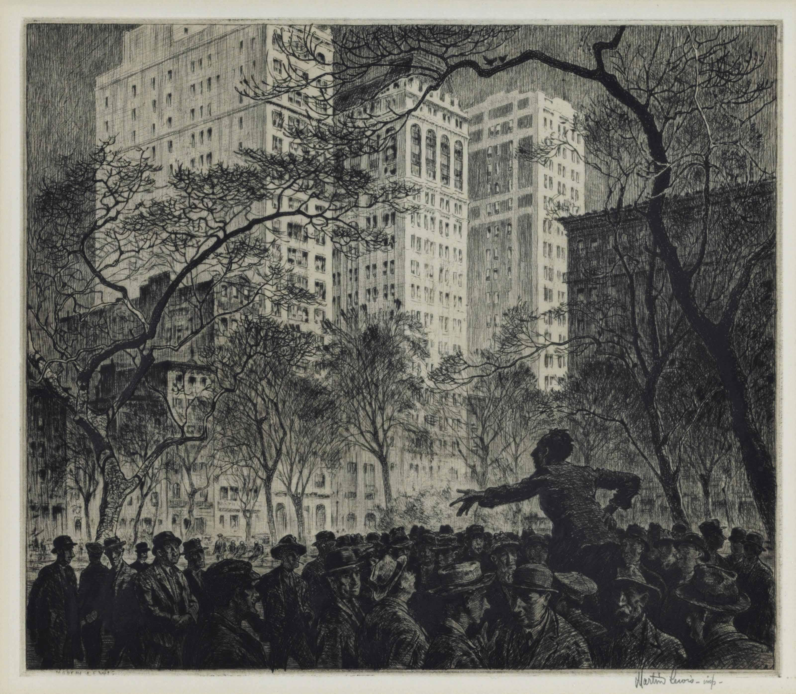 The Orator, Madison Square