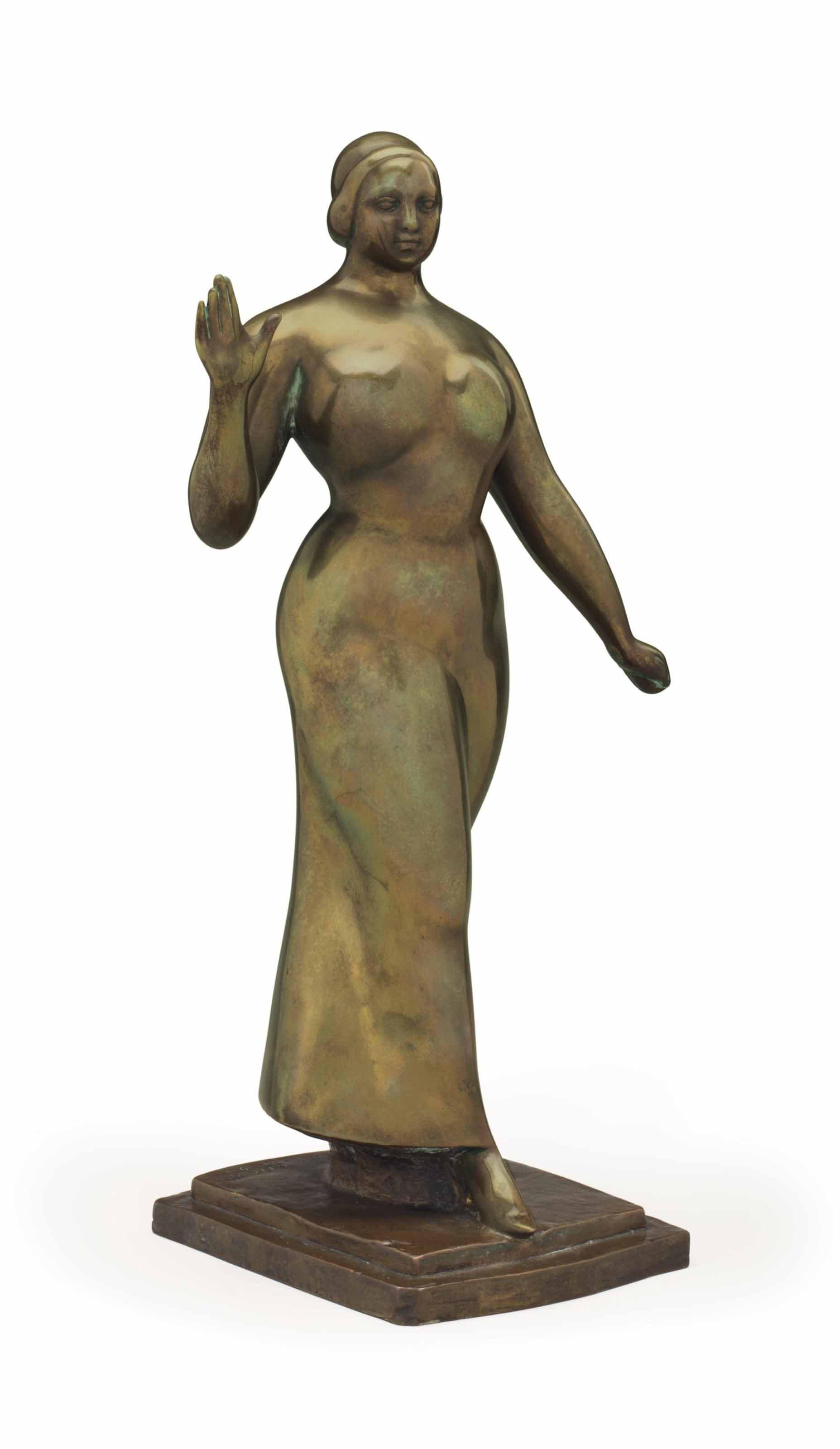 'Woman Walking'