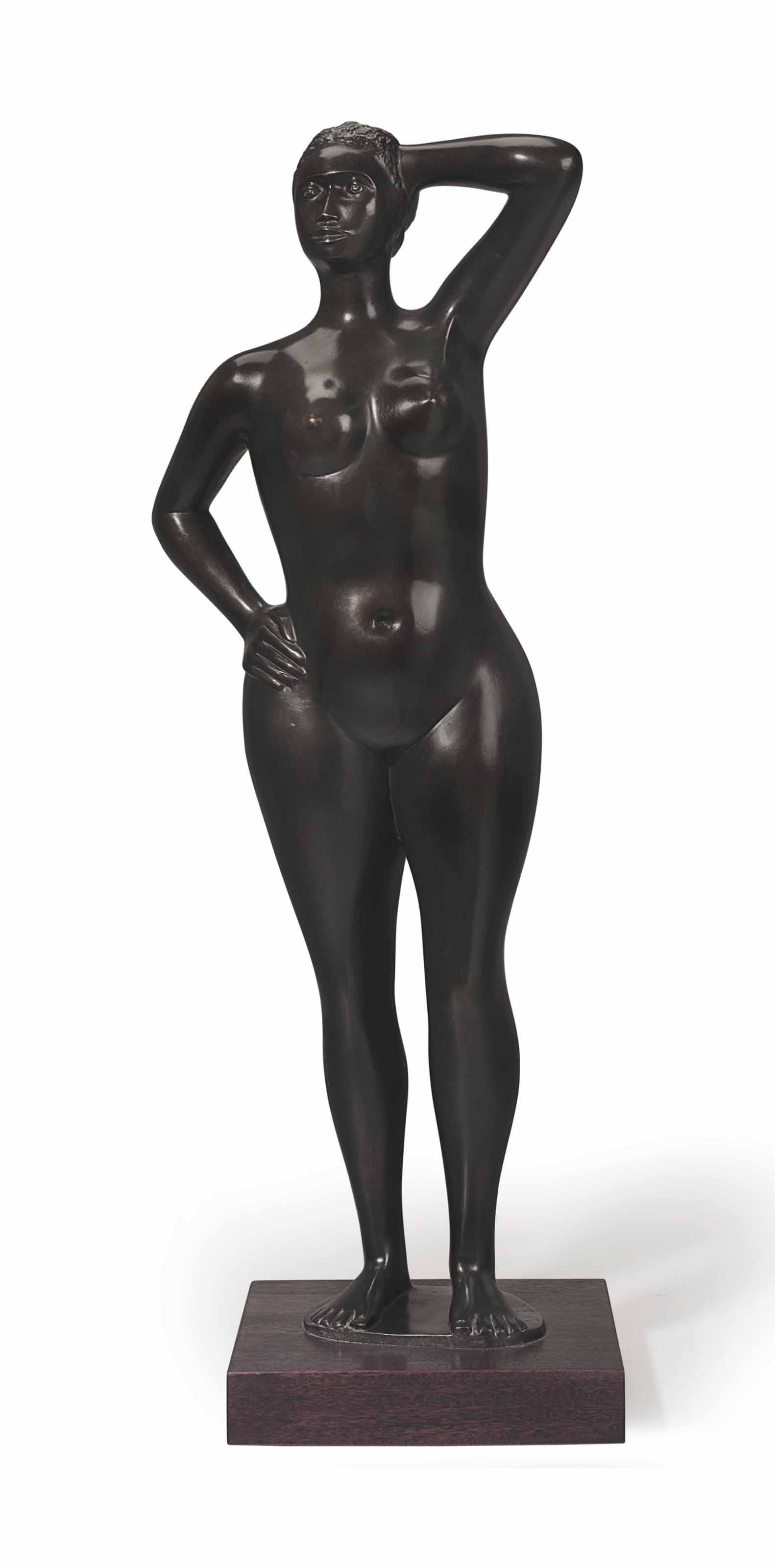 Untitled (Standing African American Woman)
