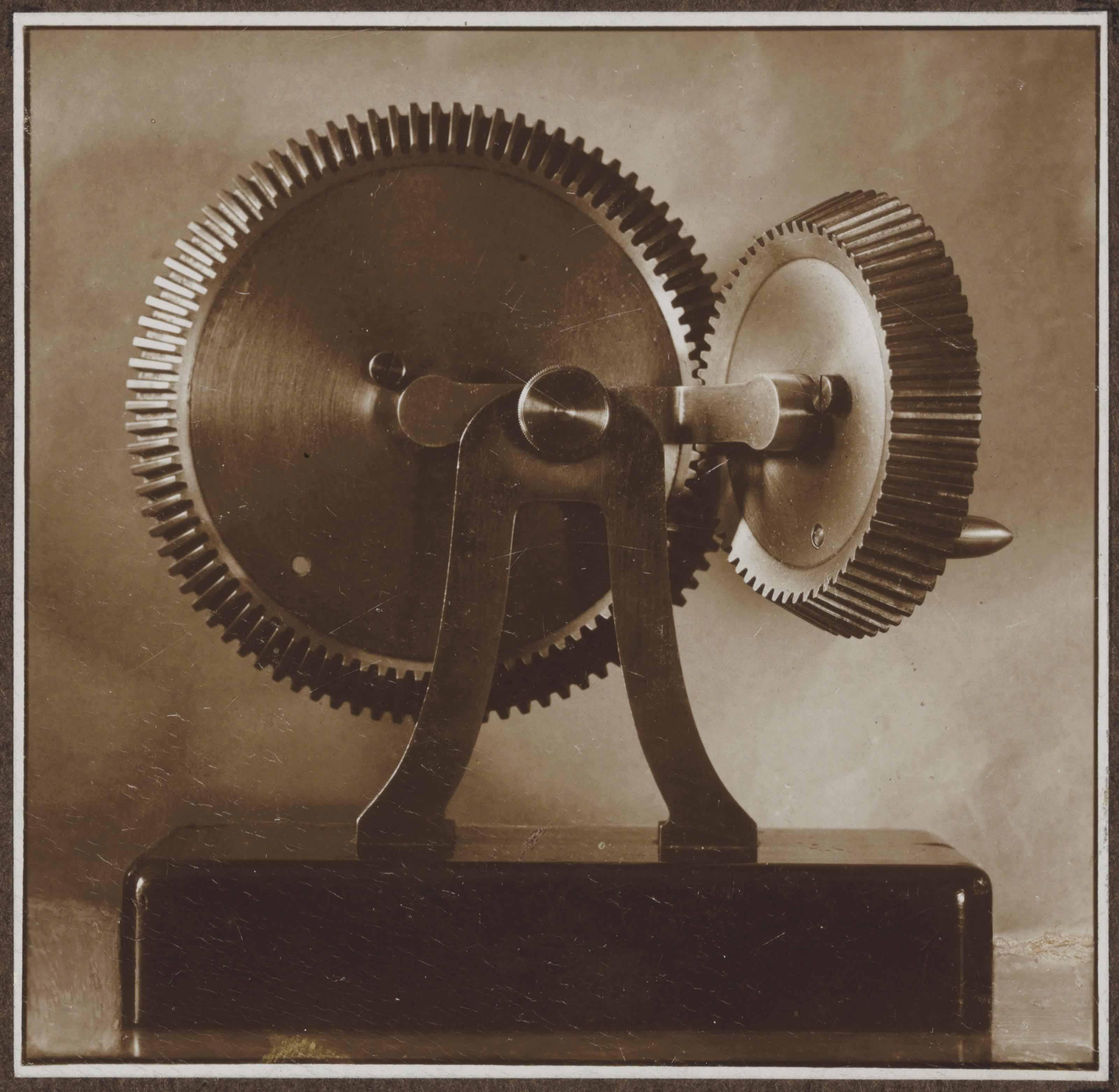 Untitled (Bevel Gears), 1923