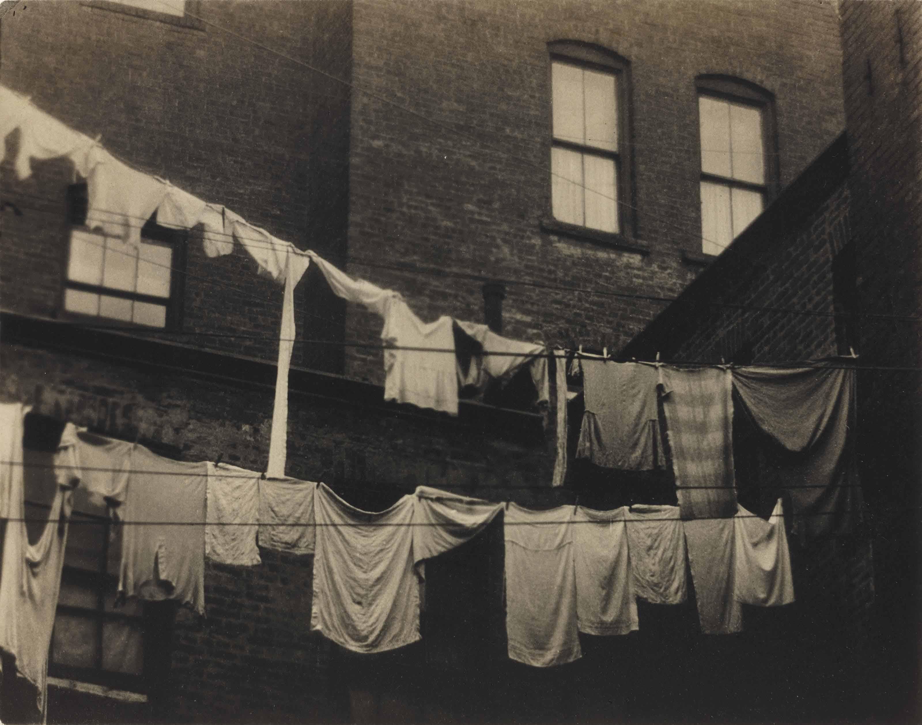 Clothesline, 1924
