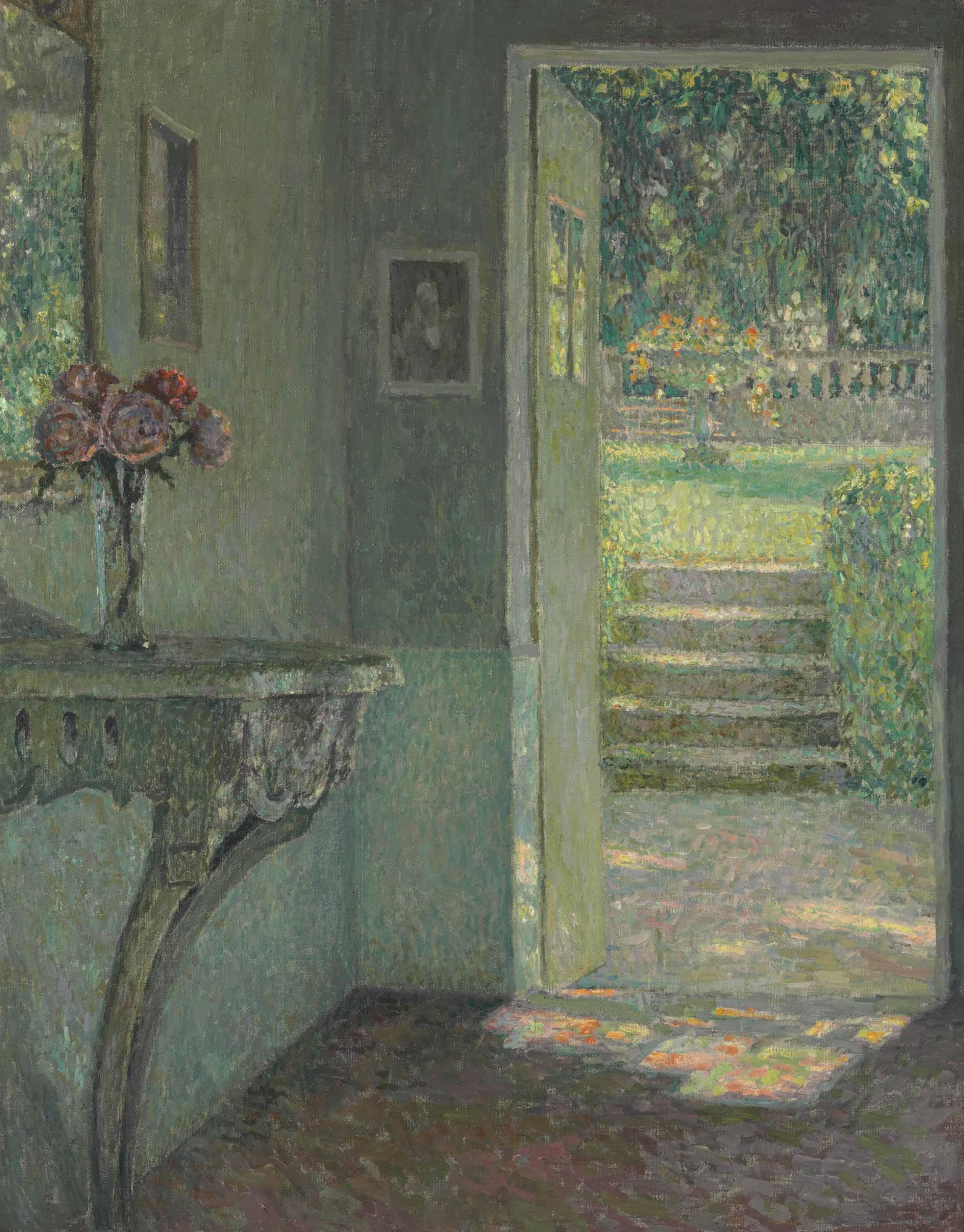 La porte du jardin, La console