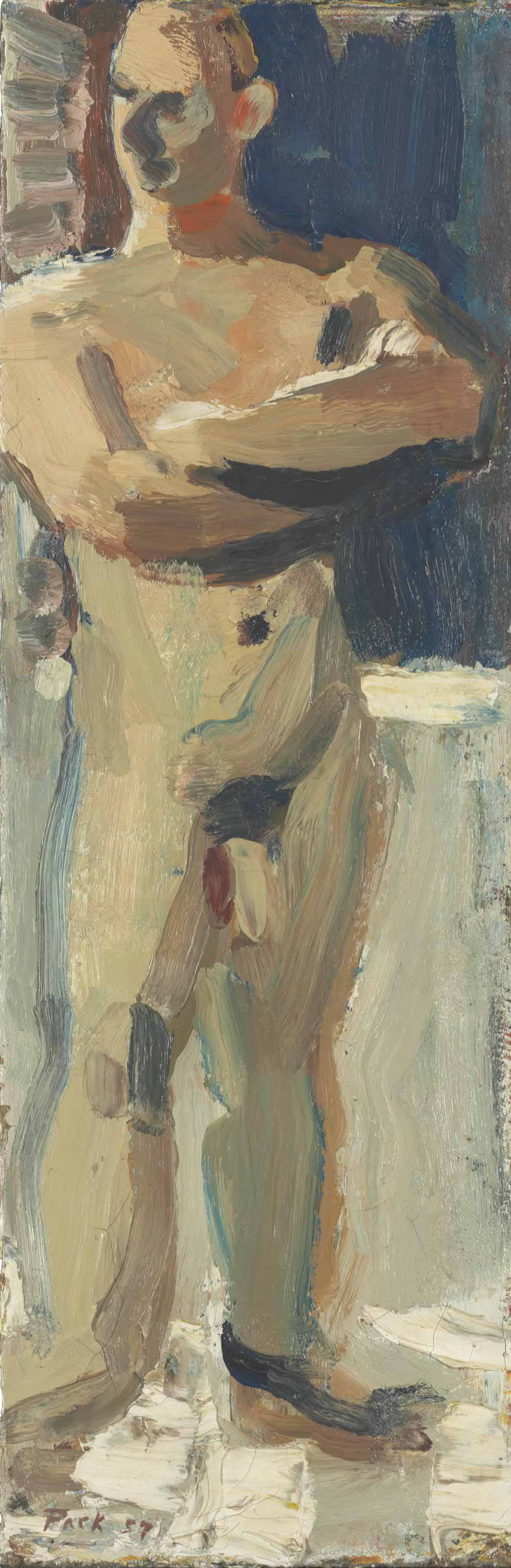 Untitled (Portrait of Tom Jefferson)