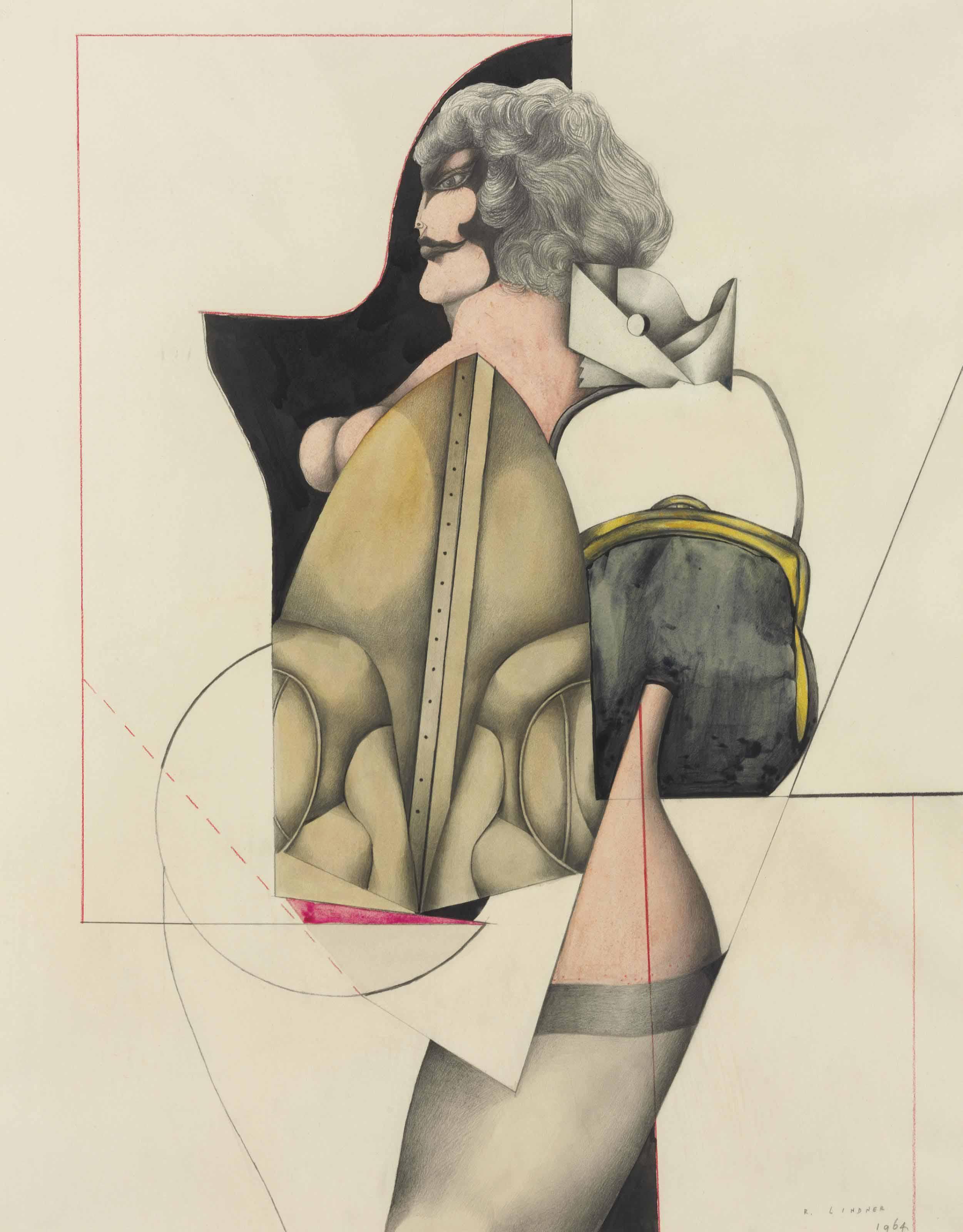 Woman and Handbag