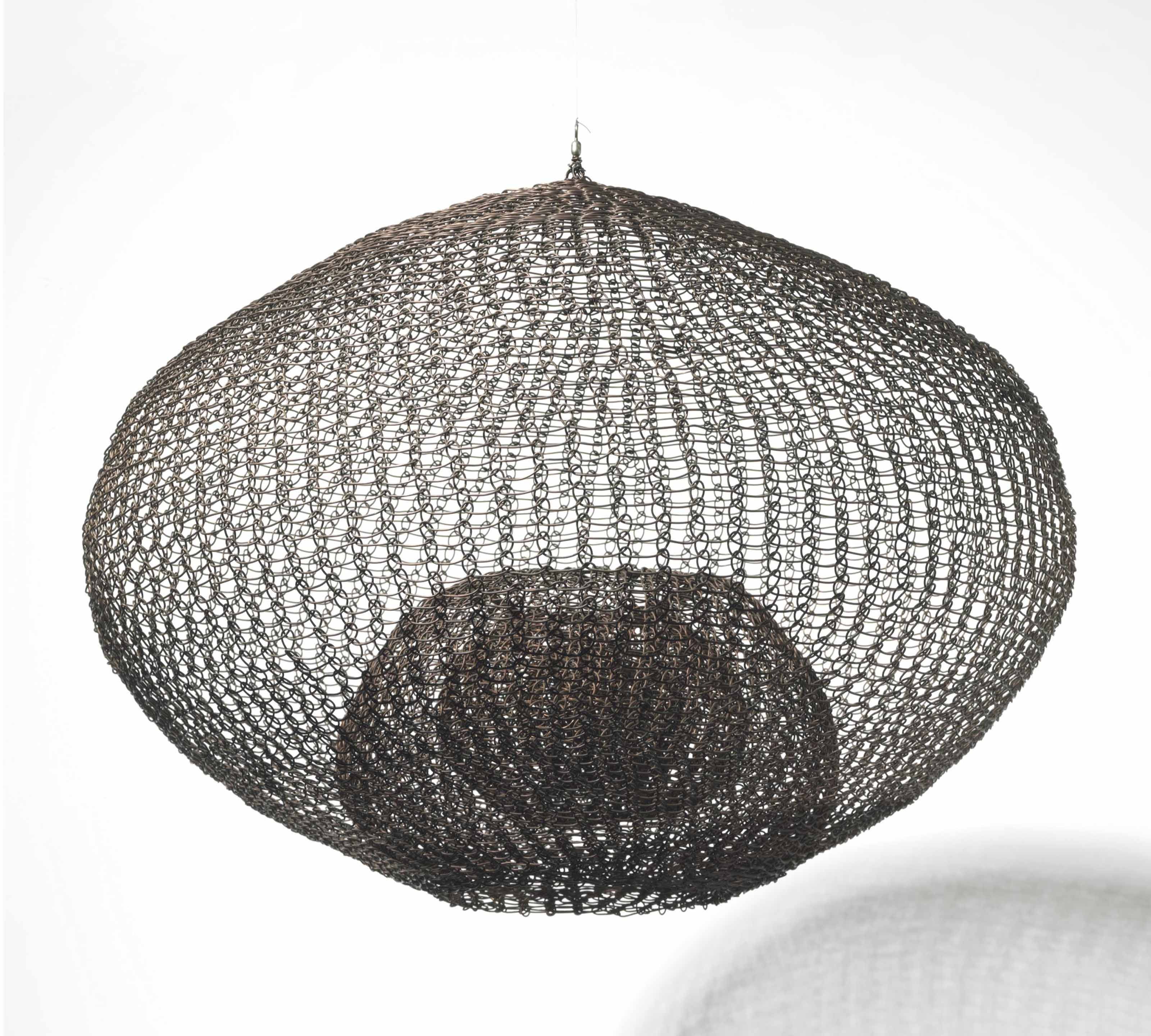 Untitled (S.082 Hanging Single Sphere, Five-Layer Continuous Form within a Form)