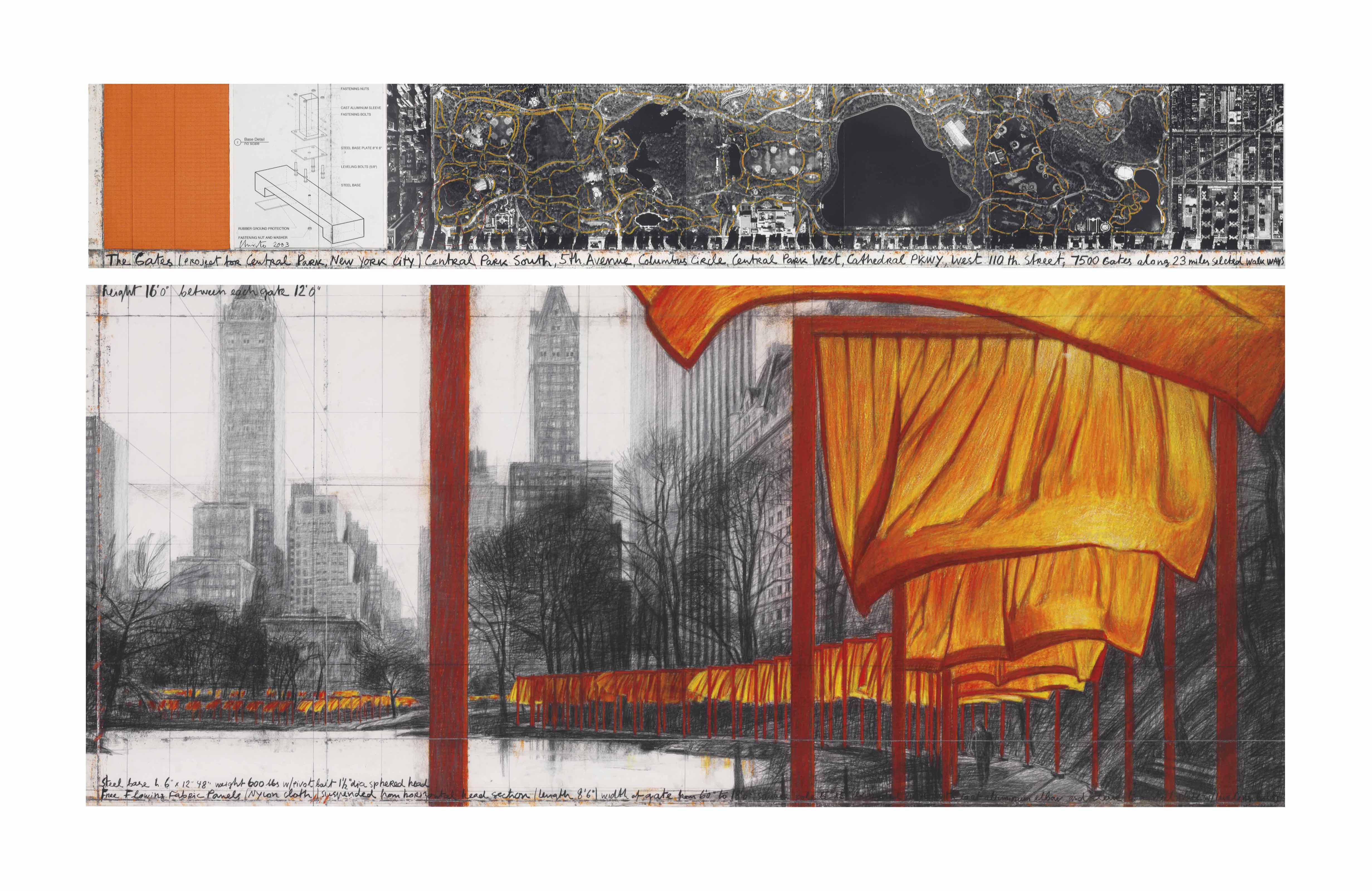 The Gates (Project for Central Park, New York City)