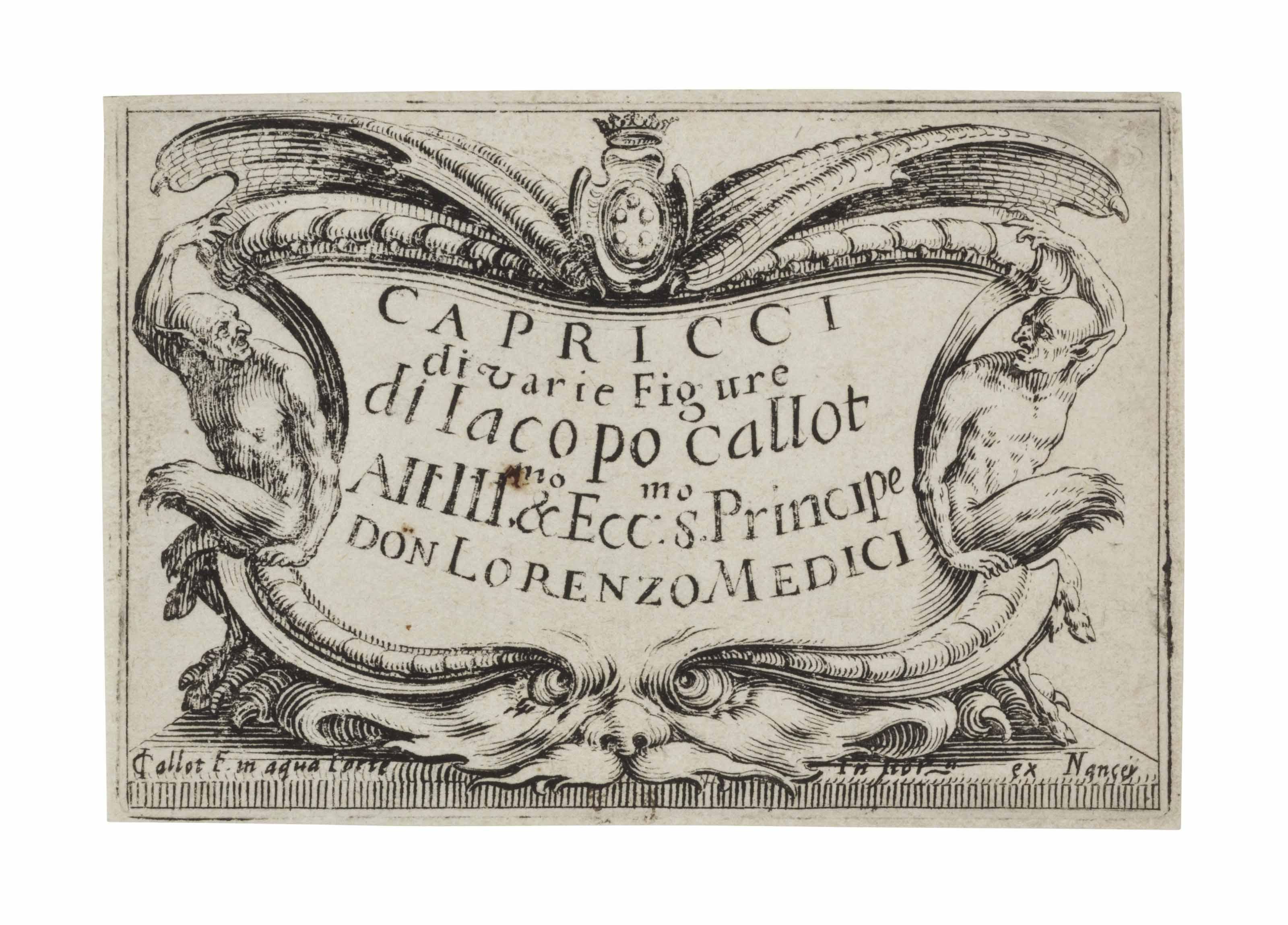 CALLOT, Jacques (circa 1592-1635).