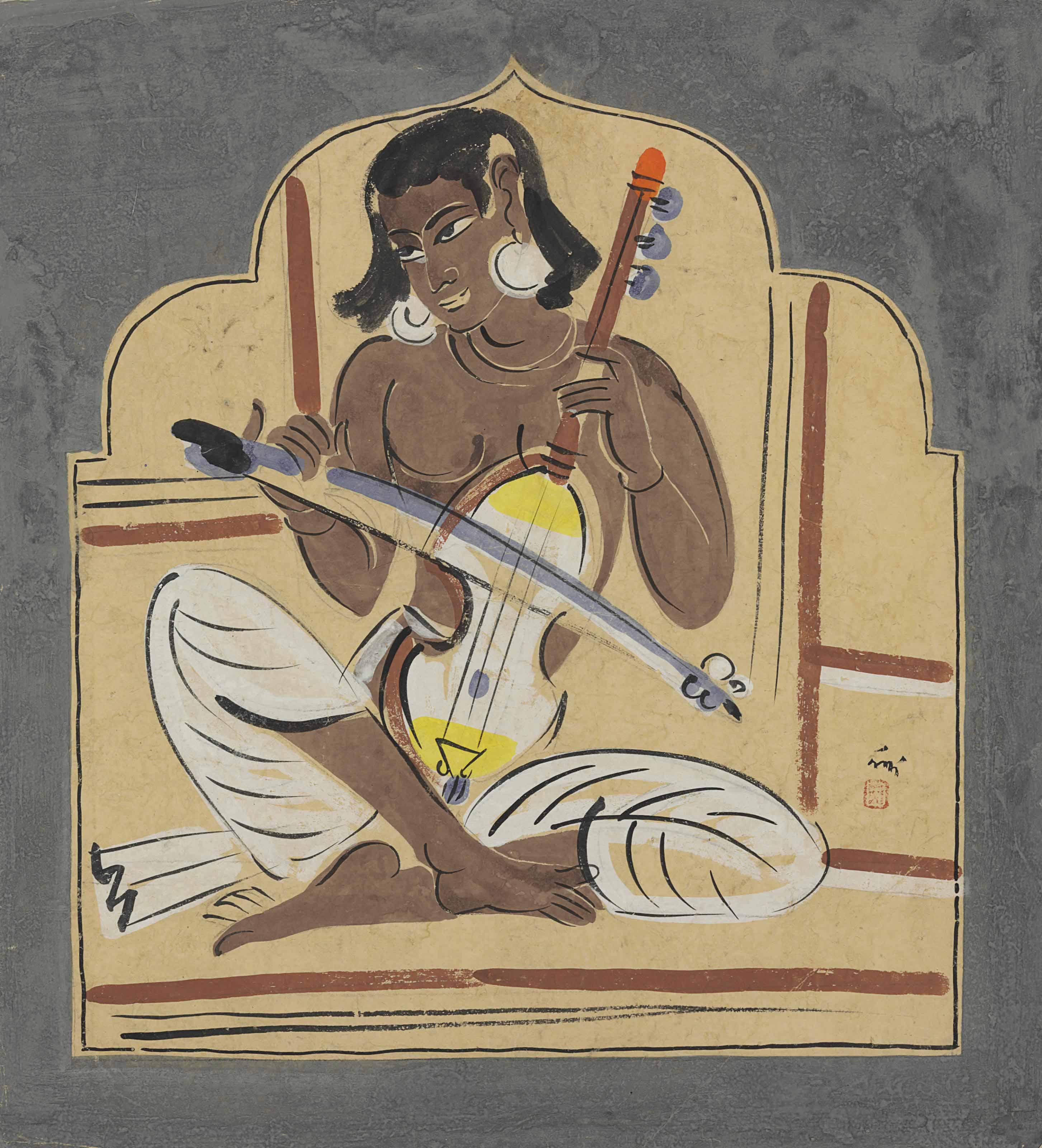 Untitled (Esraj Player)