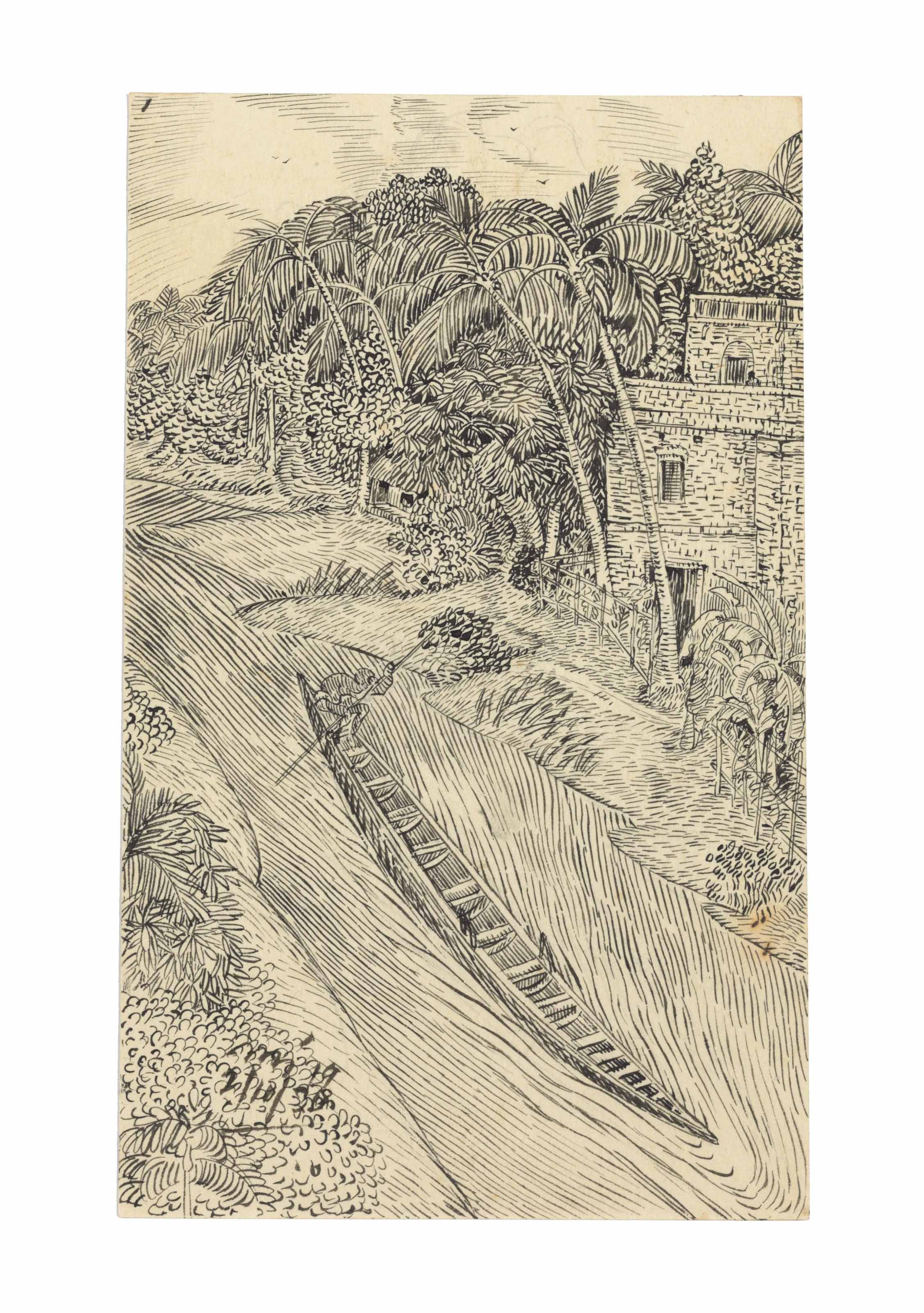 Untitled (Village Canal)