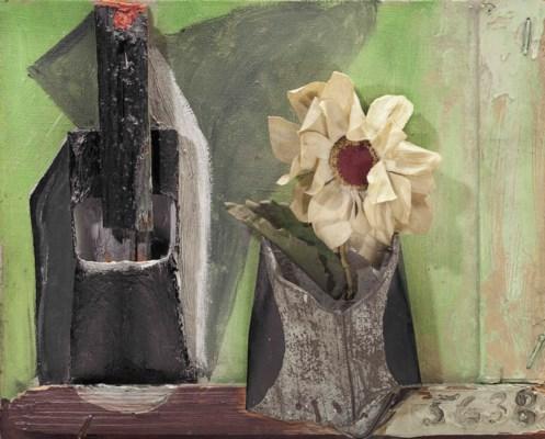 Pablo picasso 1881 1973 nature morte la fleur - Pablo picasso nature morte a la chaise cannee ...