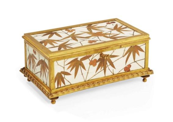 coffret d 39 epoque napoleon iii signature de pierre ferdinand duvinage vers 187o christie 39 s. Black Bedroom Furniture Sets. Home Design Ideas