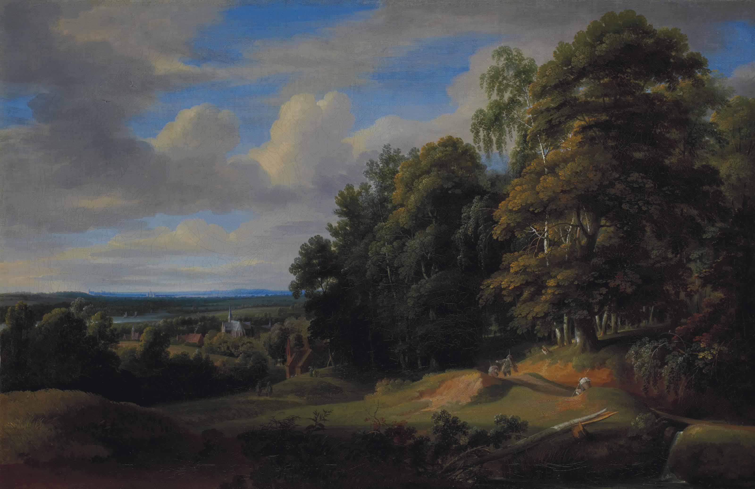 Paysage du Brabant
