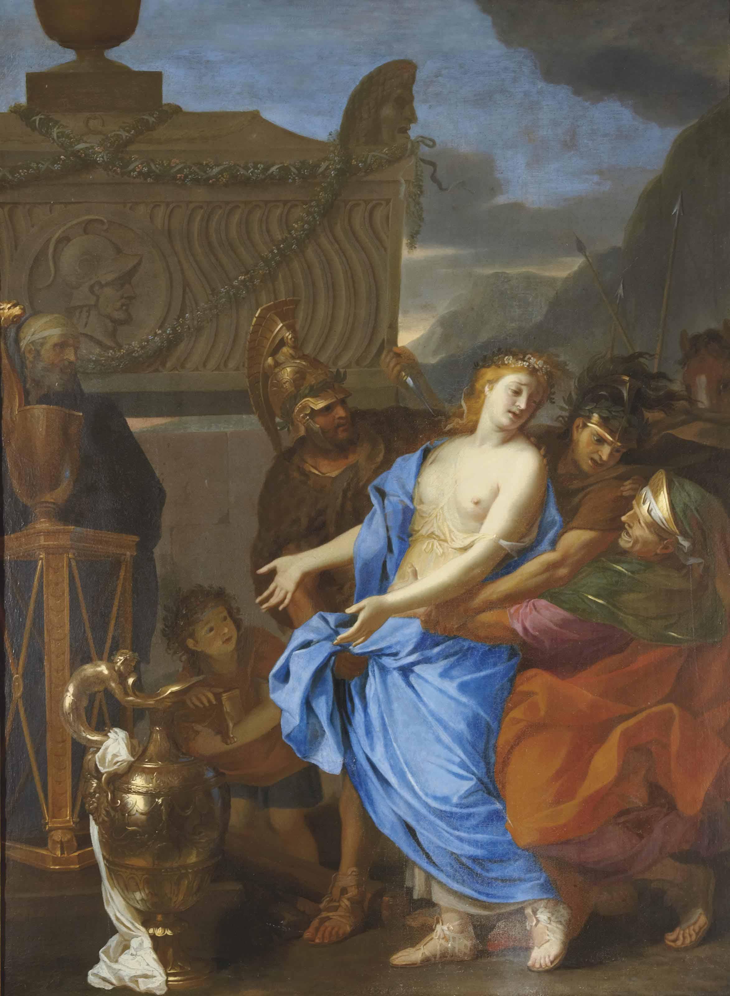 Le sacrifice de Polyxène