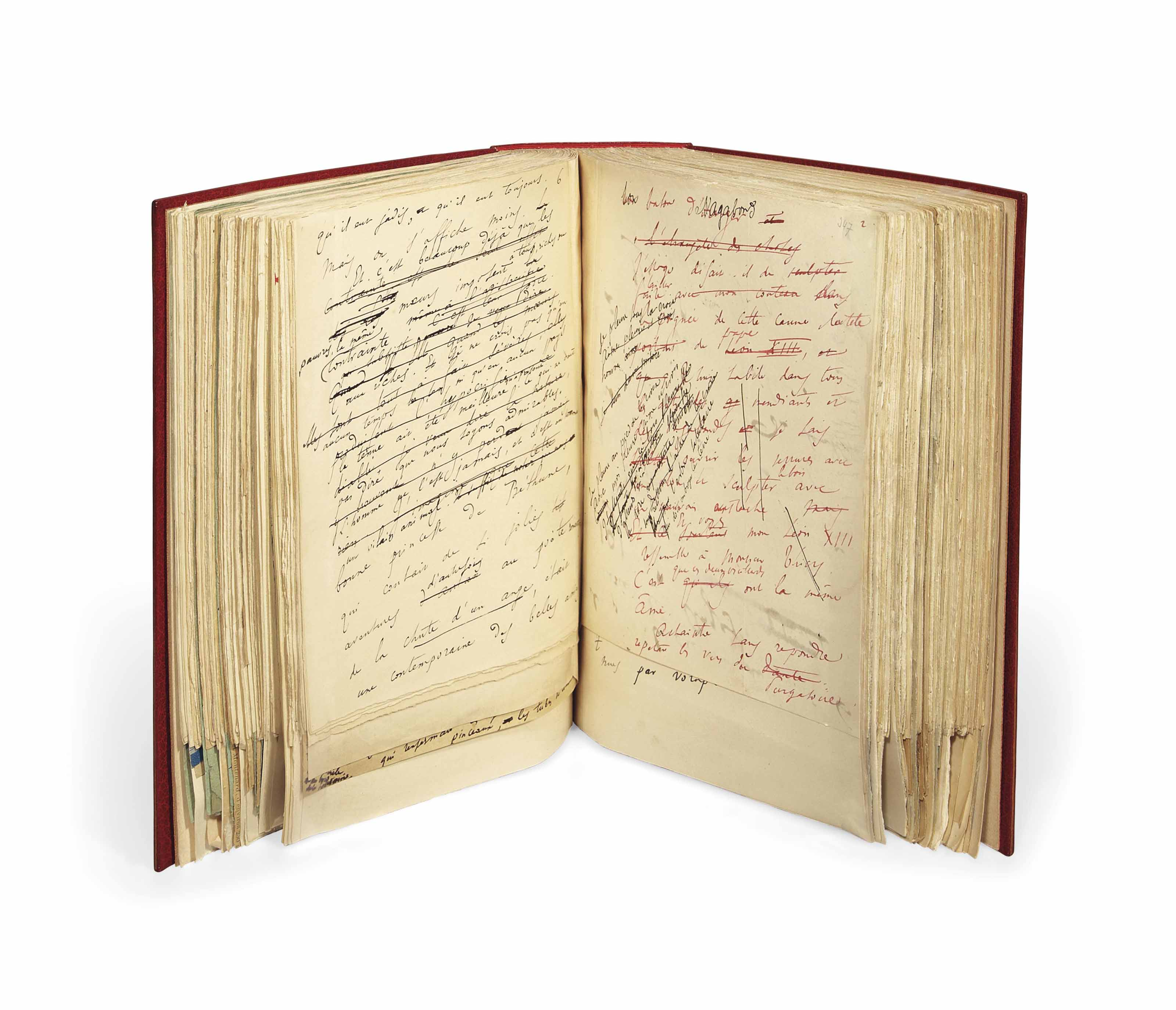 FRANCE, Anatole (1844-1924). [Le Lys rouge]. La Terre des morts. Manuscrit autographe non signé. Vers 1889-1890.
