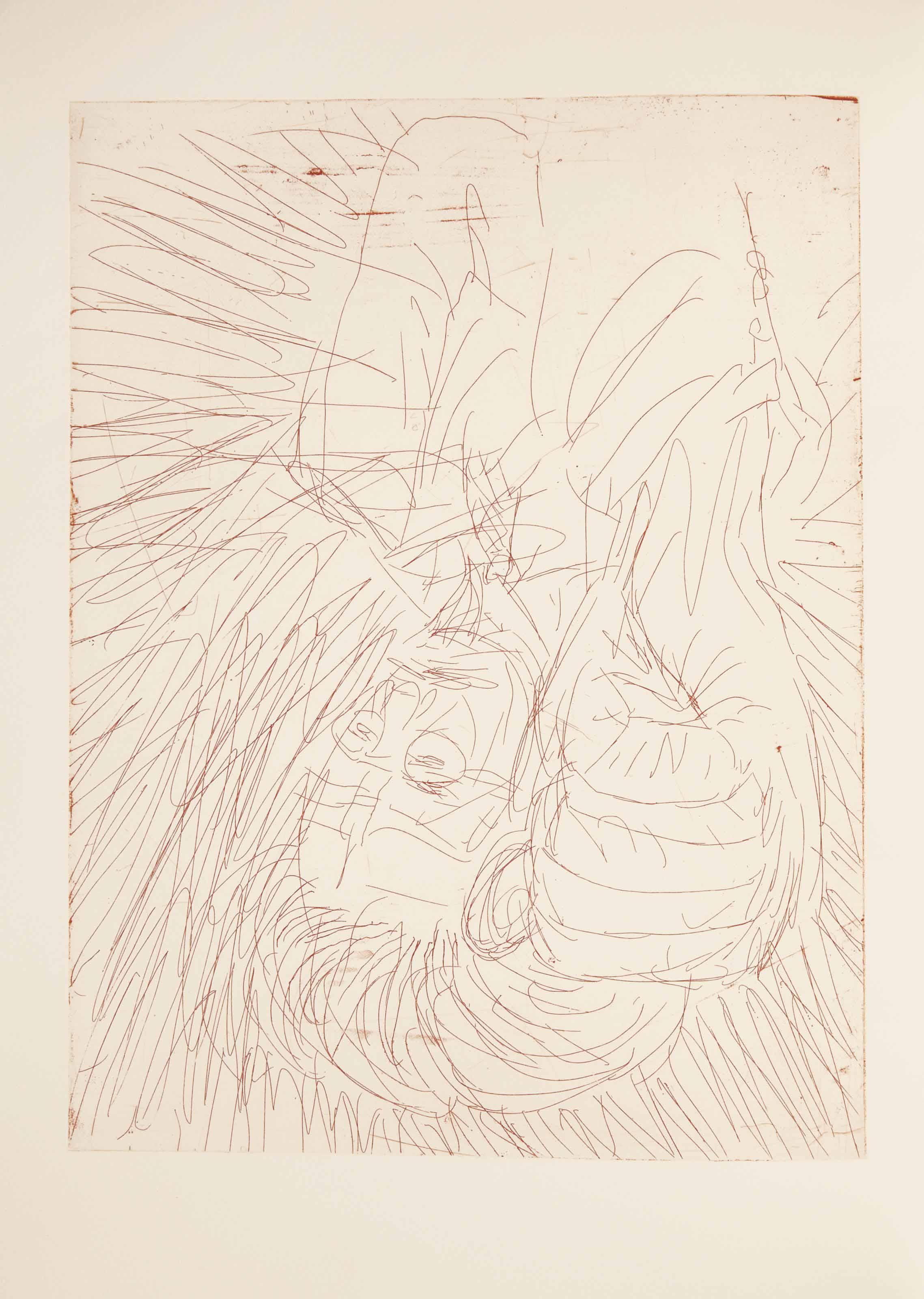 [BASELITZ] -- ARTAUD, Antonin (1896-1948). Le Théâtre de Séraphin. Avec huit gravures originales de Georg Baselitz et une partition inédite de Wolfgang Rihm. Paris: Éditions du Solstice, 2003.