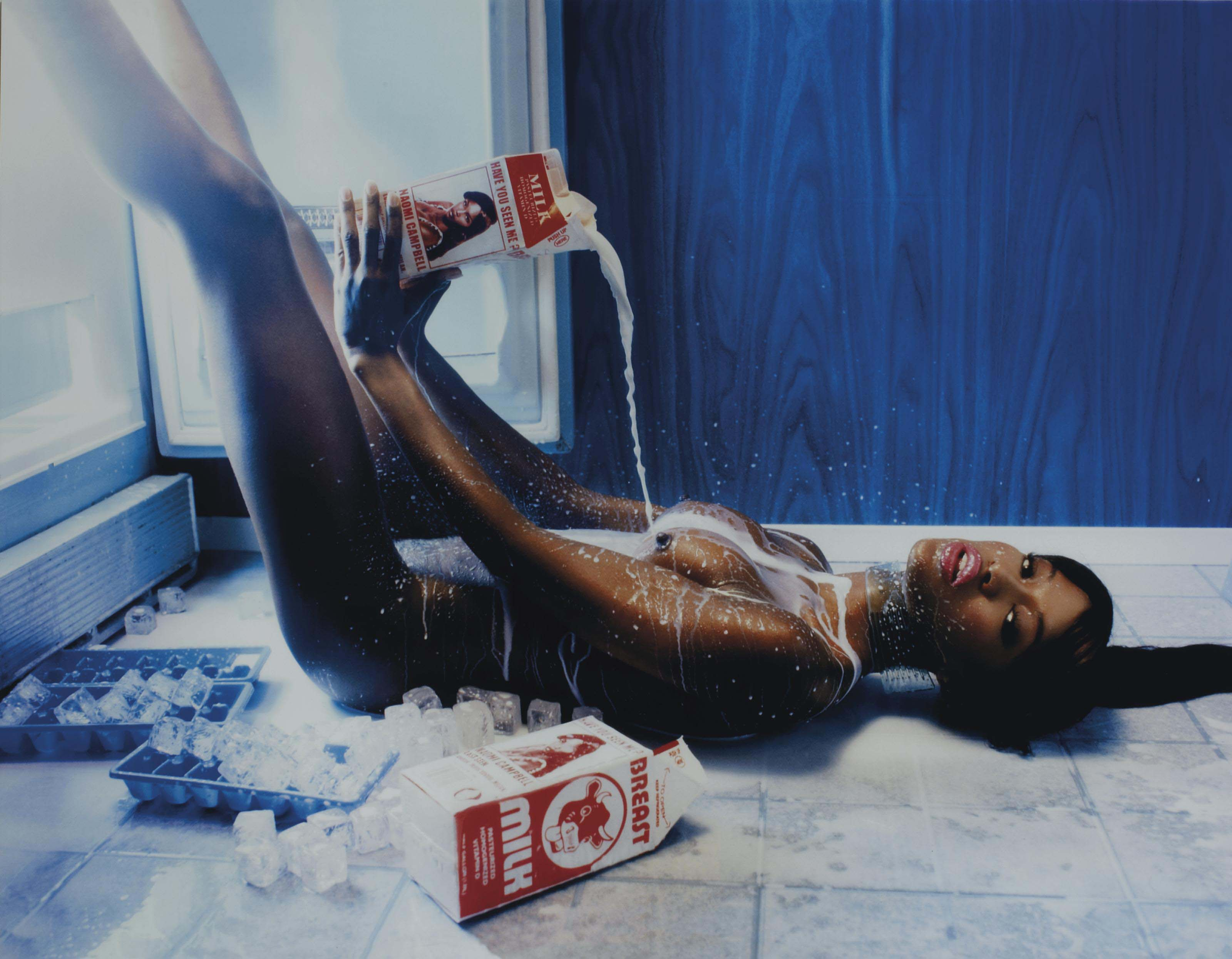 Naomi Campbell, Have you seen me, NY, Playboy, 1999