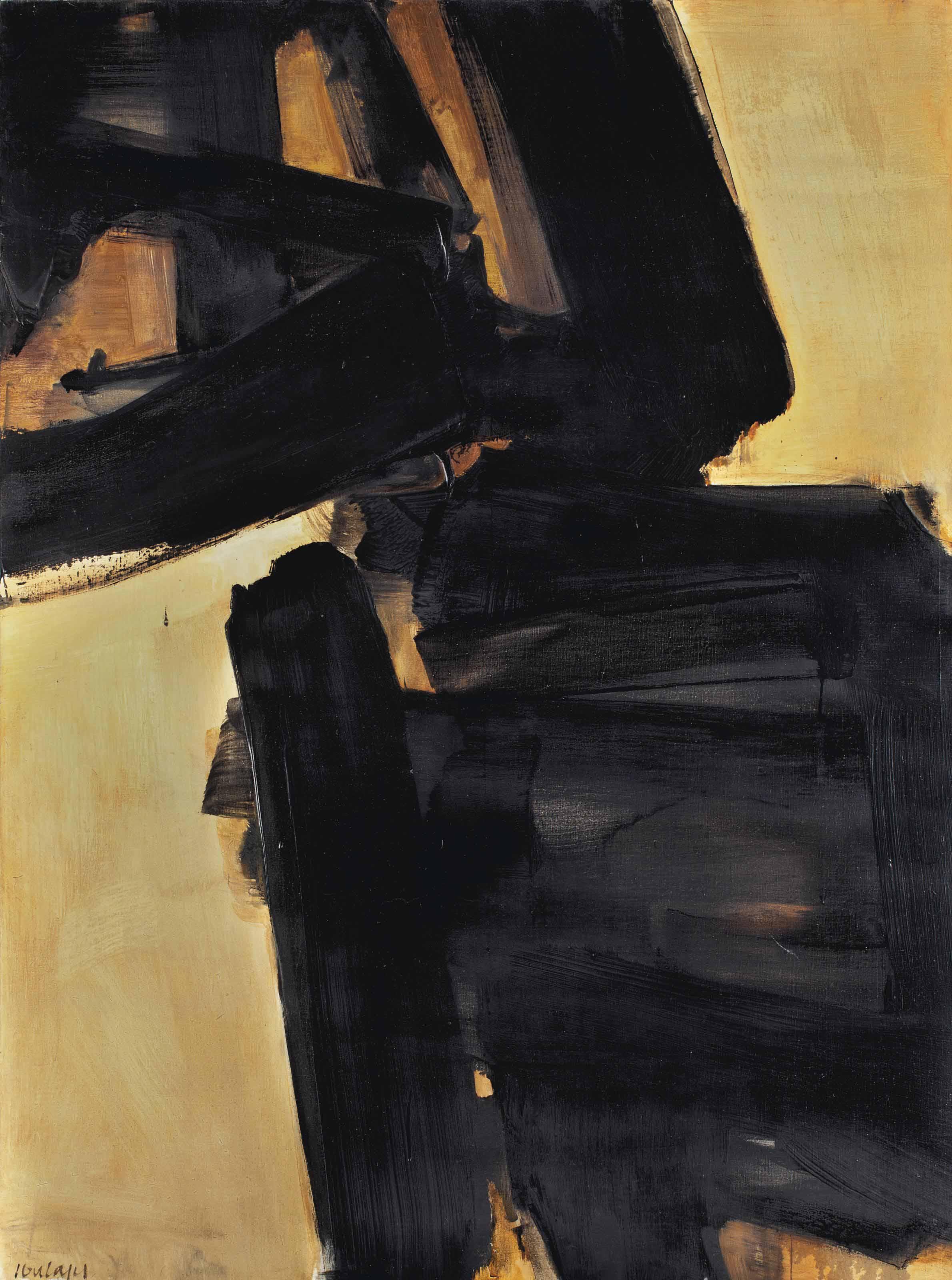 Peinture 130 x 89 cm, 8 septembre 1965