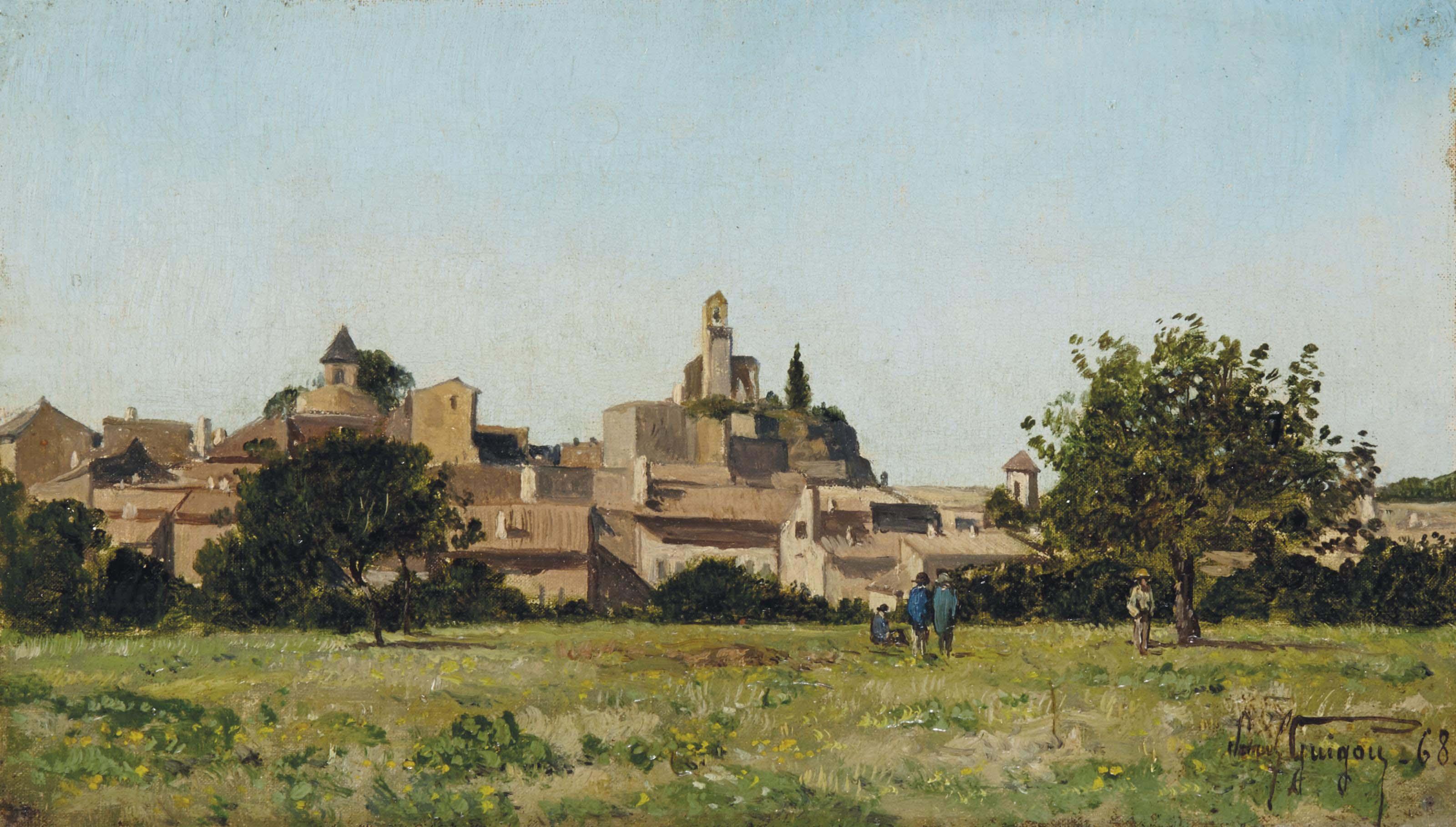 Village de Lourmarin dans le Vaucluse