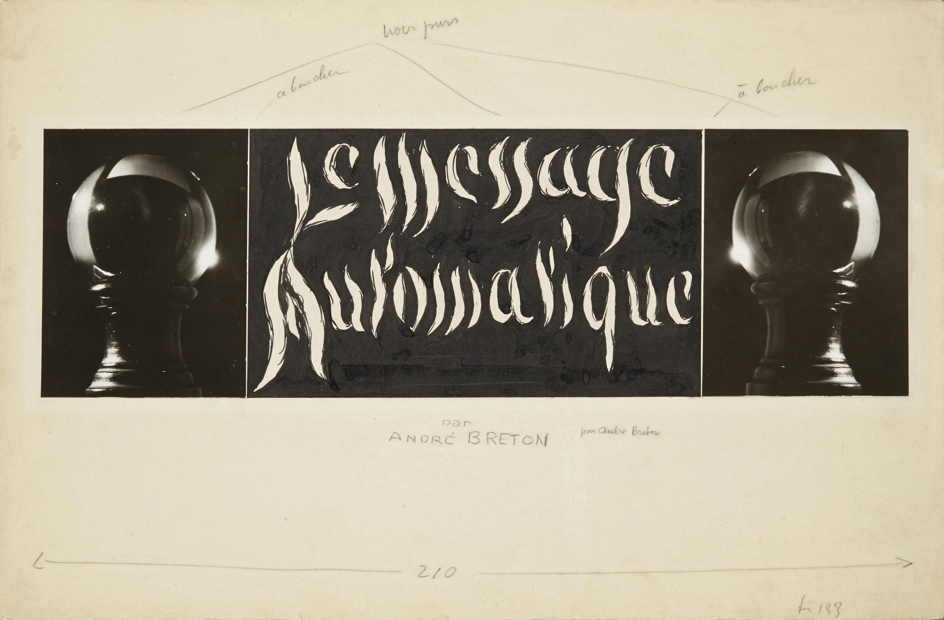 Le Message Automatique, 1933