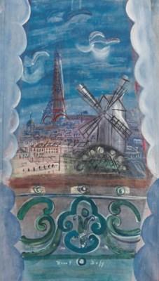 Raoul dufy 1877 1953 fen tre ouverte sur la tour for Par la fenetre ouverte bonjour