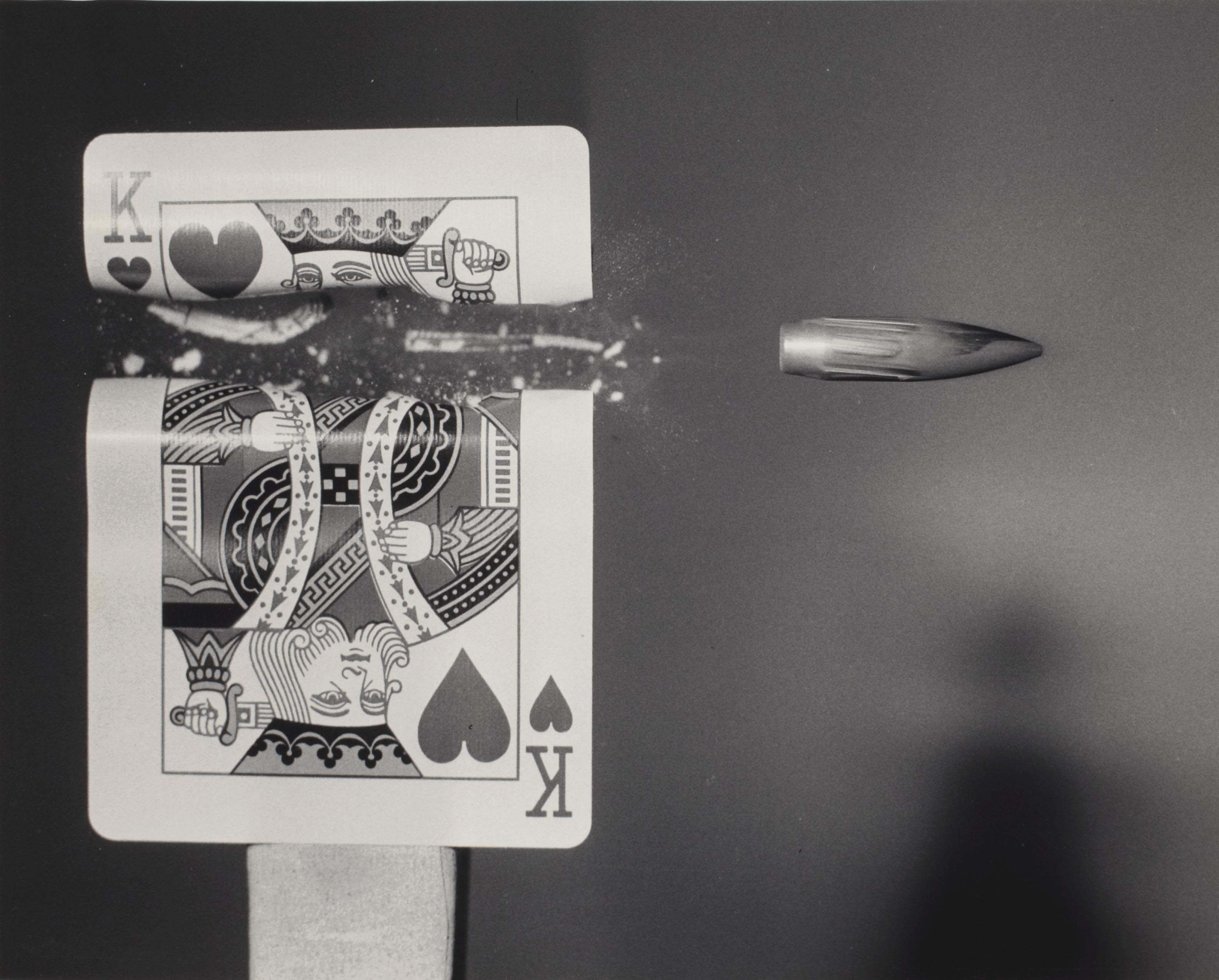 Cutting the card quickly, 1980