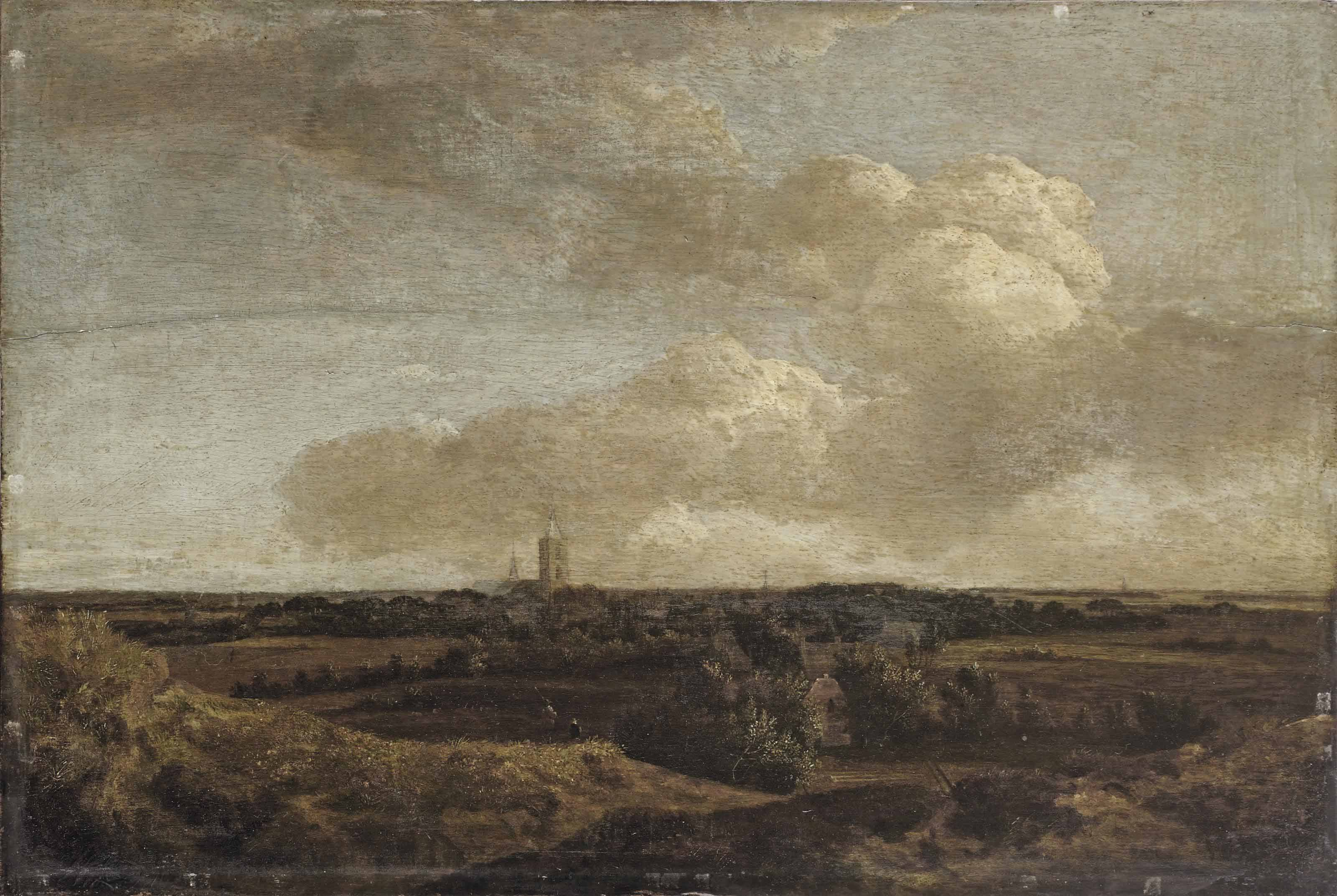 A panoramic view of Noordwijk