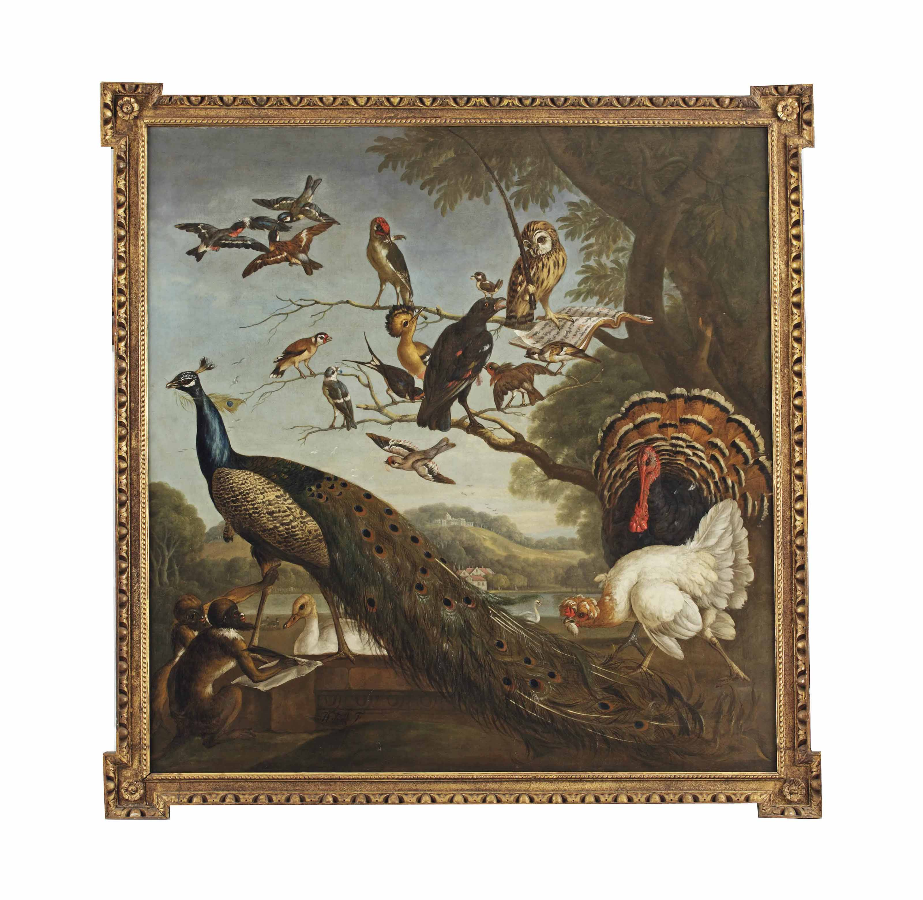 A bird's concert with Aesop's Fable of the Stolen Feathers
