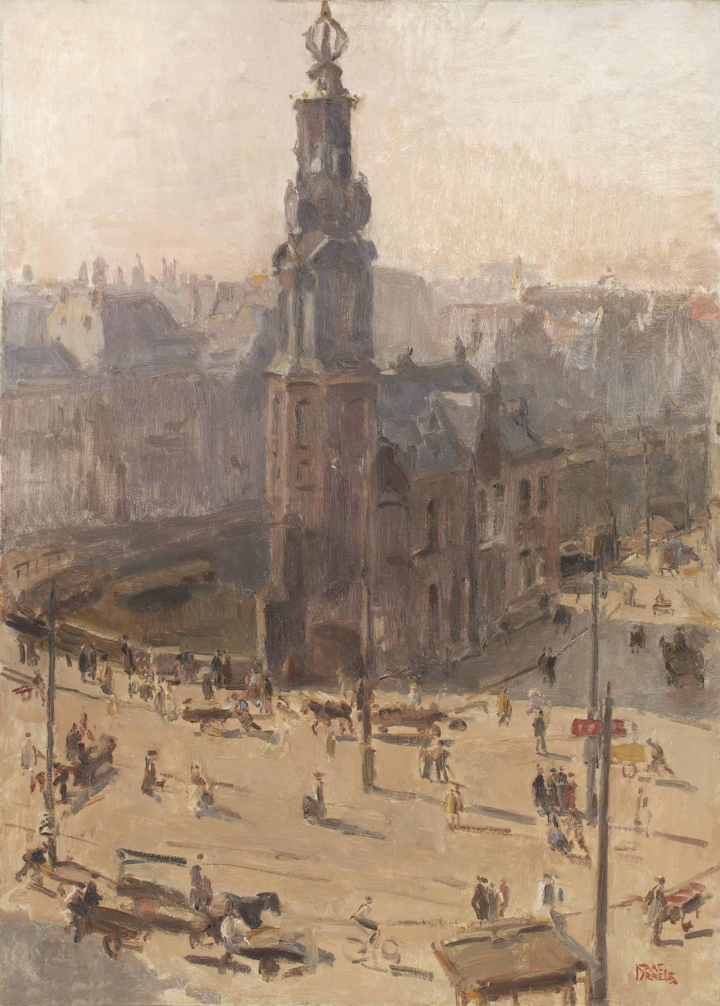 View of the Munttower, Amsterdam