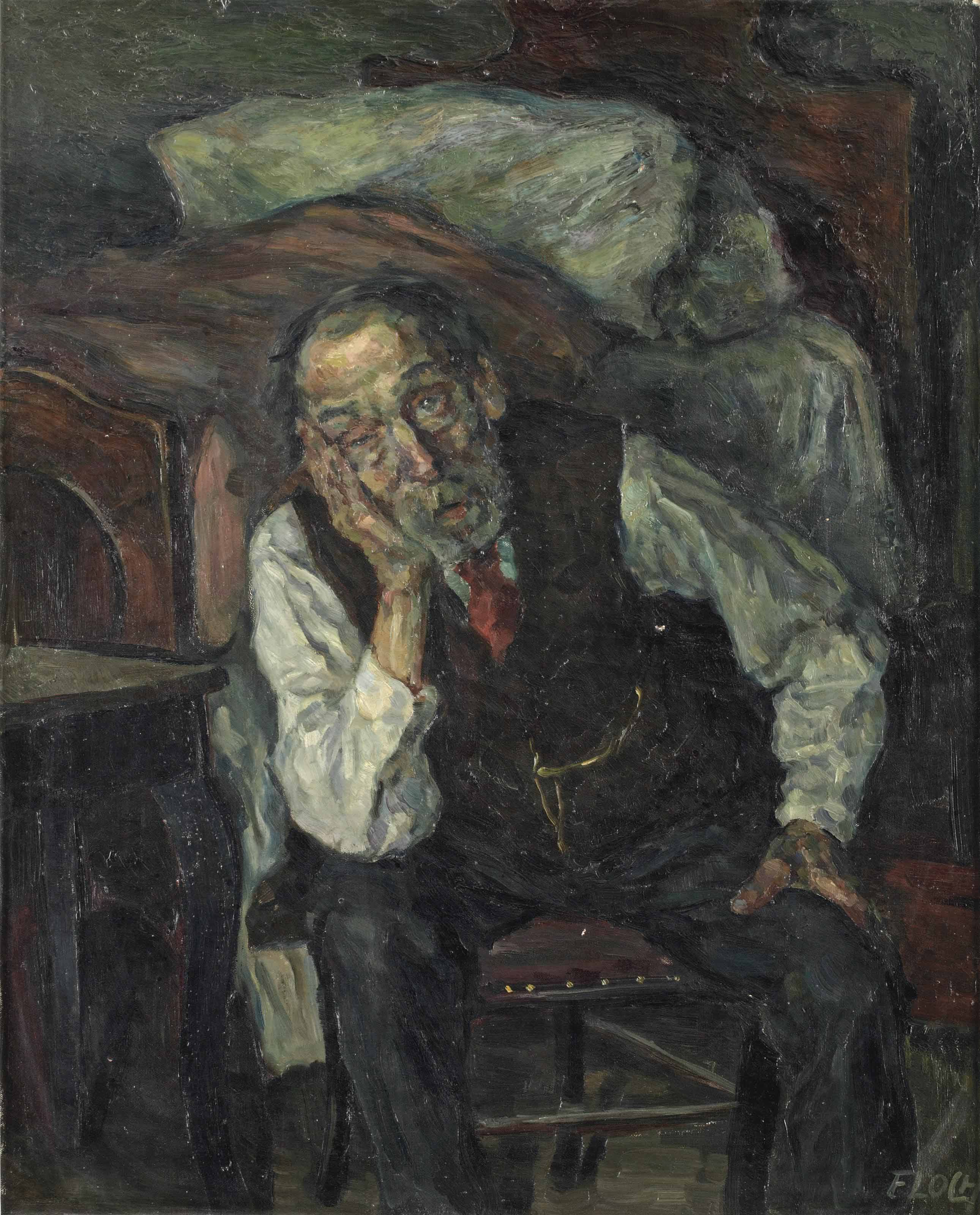 Portrait of an older men