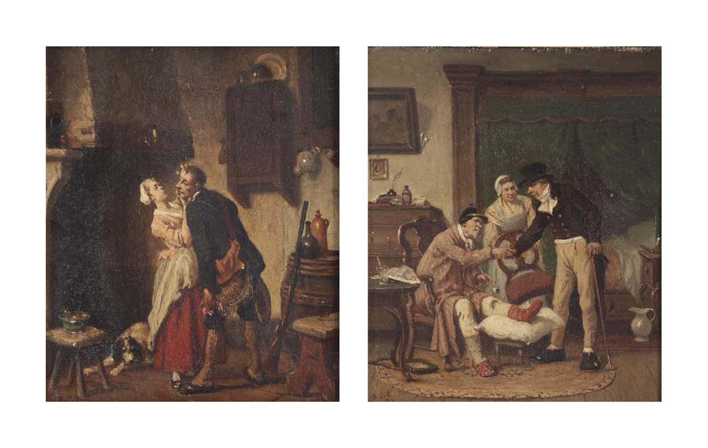 Les Deux Amis; and Bredouille