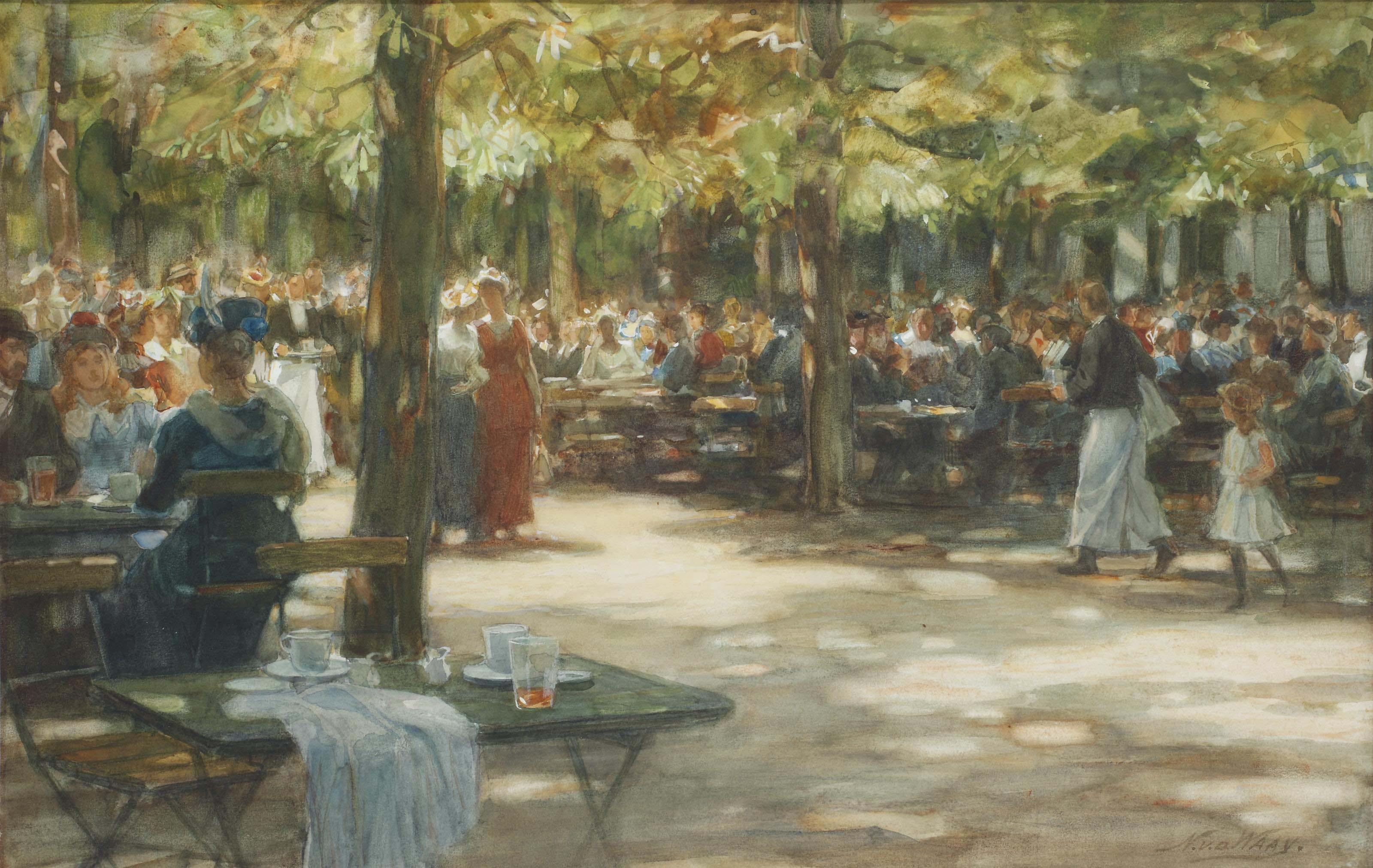 Vrijdagavondconcert, Artis: after the concert, in the gardens of Artis Royal Zoo, Amsterdam
