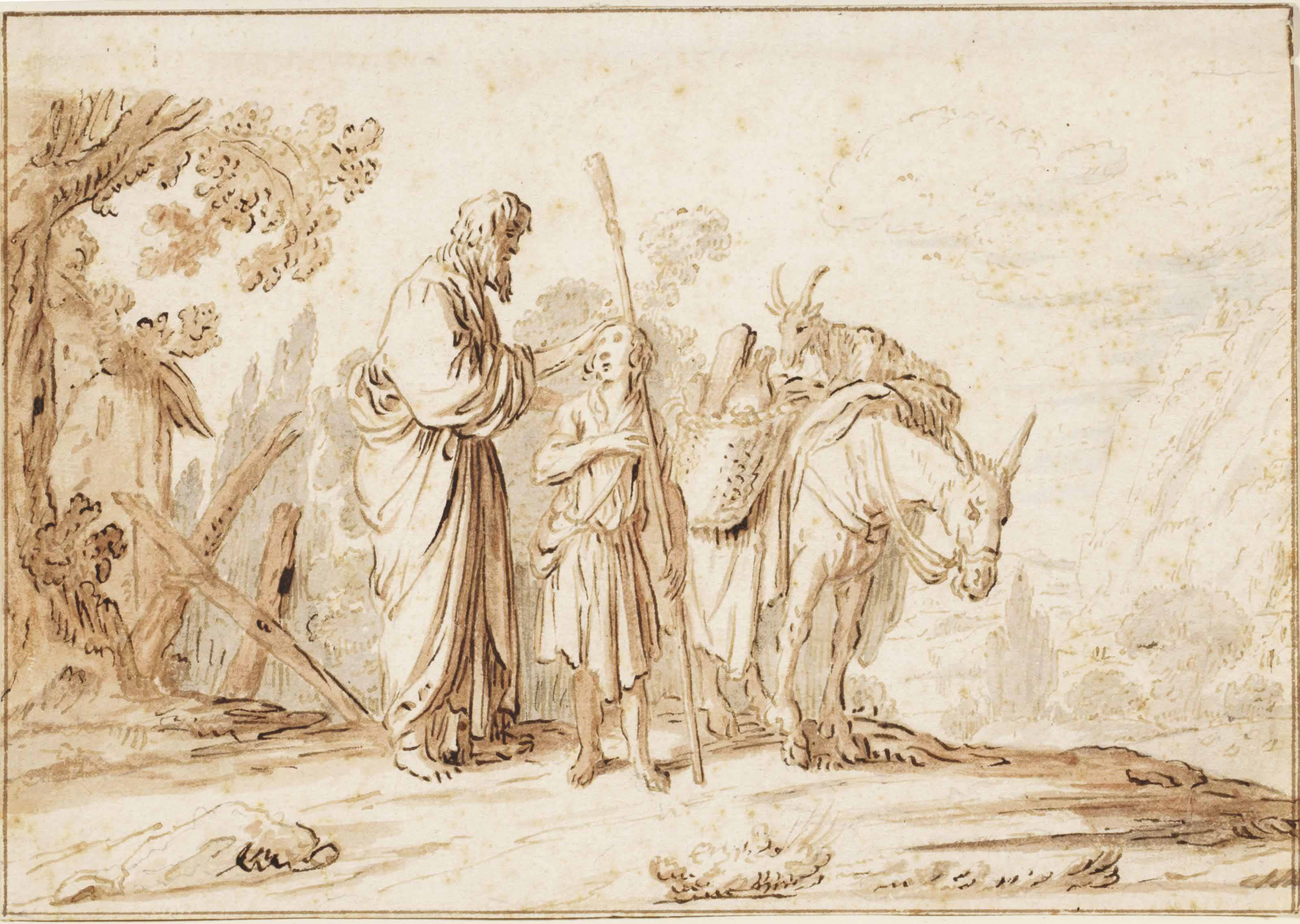 Isaiah sending David to Saul