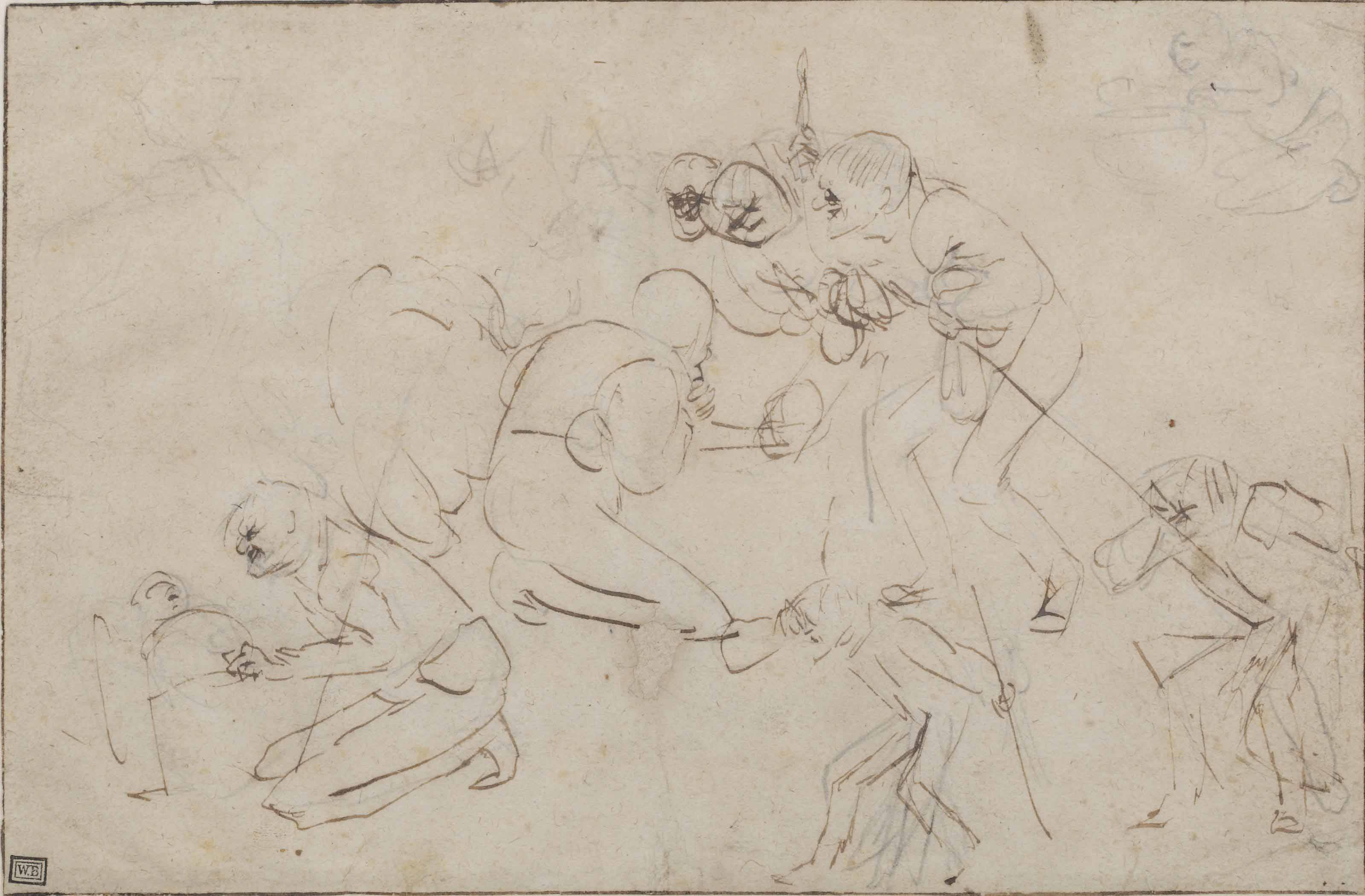 Studies for an Adoration of the Shepherds
