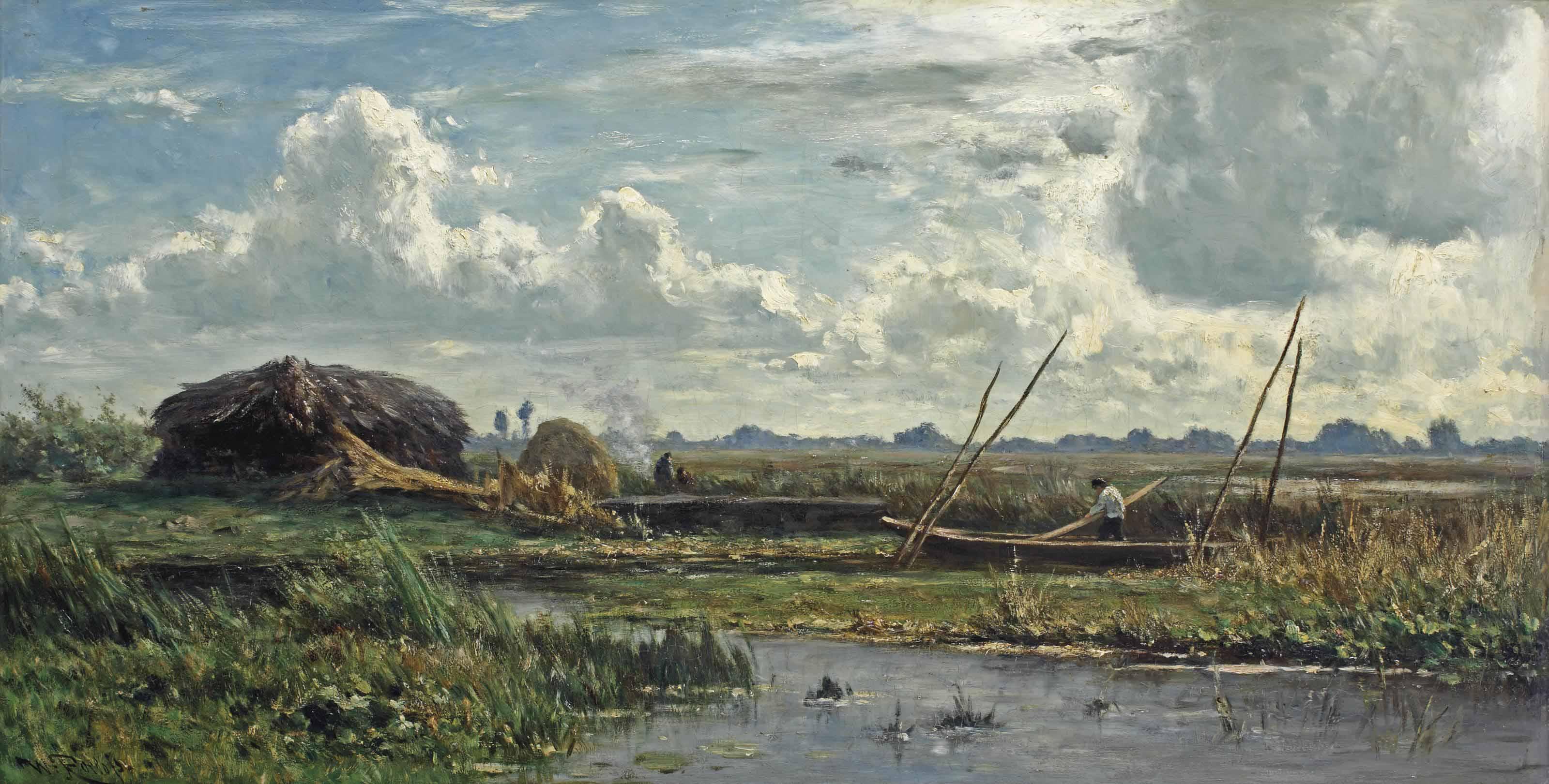 The reed cutters, Kortenhoef