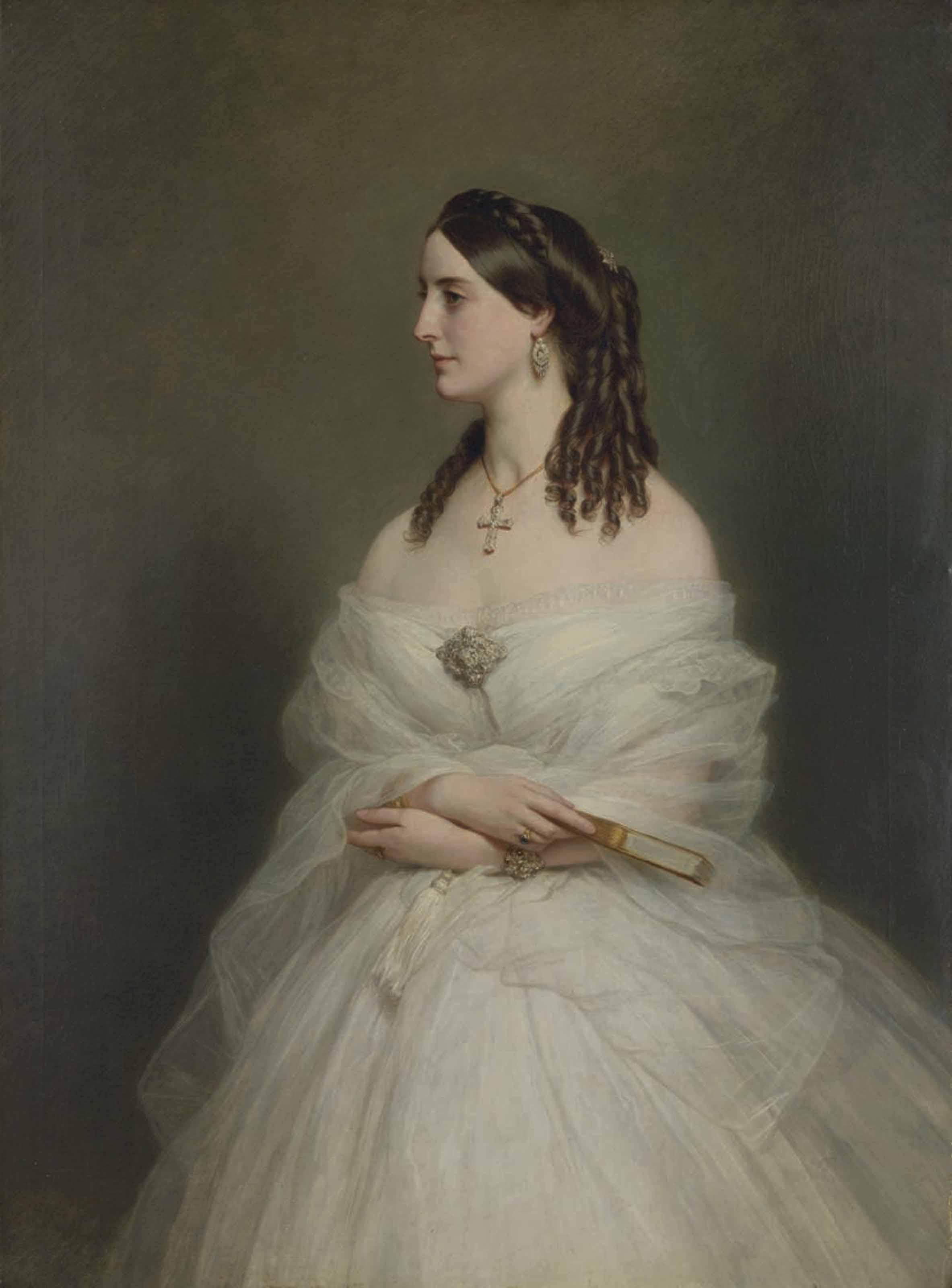 Portrait of Mrs Vanderbyl
