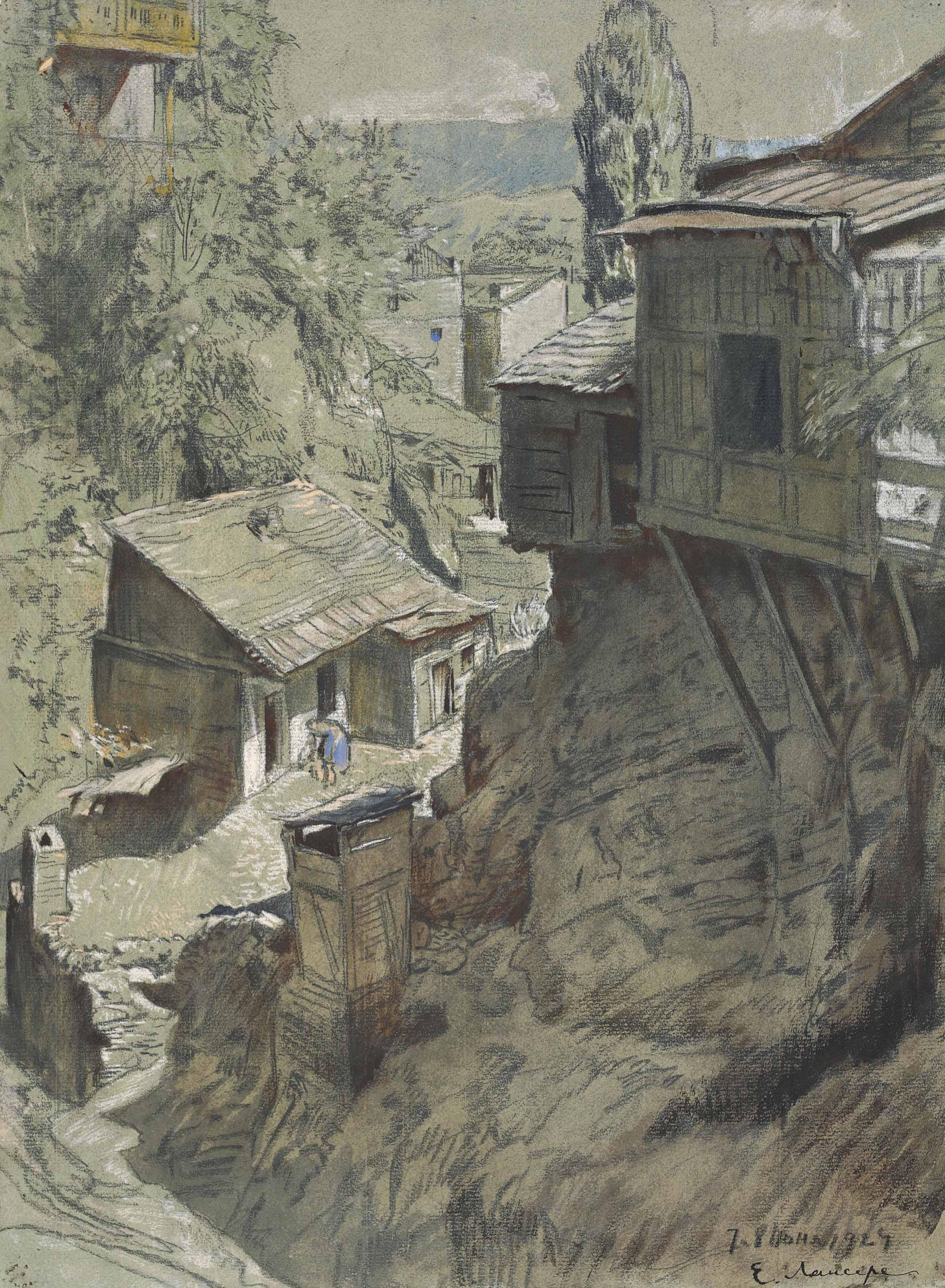 Un coin perdu de Tiflis