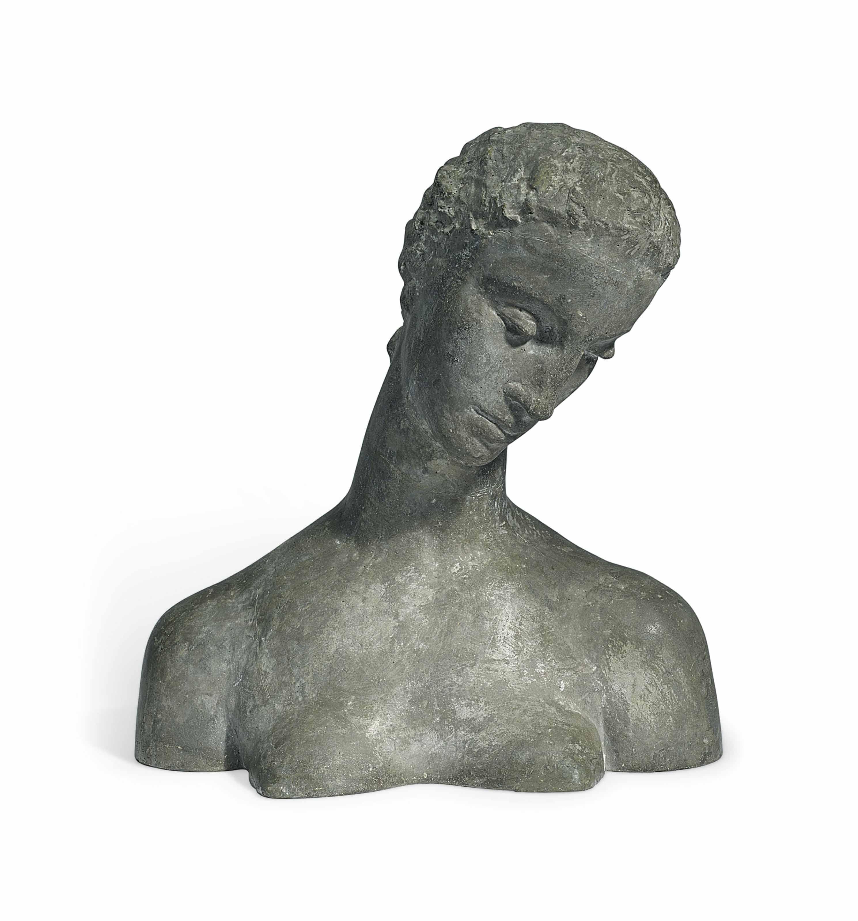 Büste der Knieenden (Geneigter Frauenkopf)