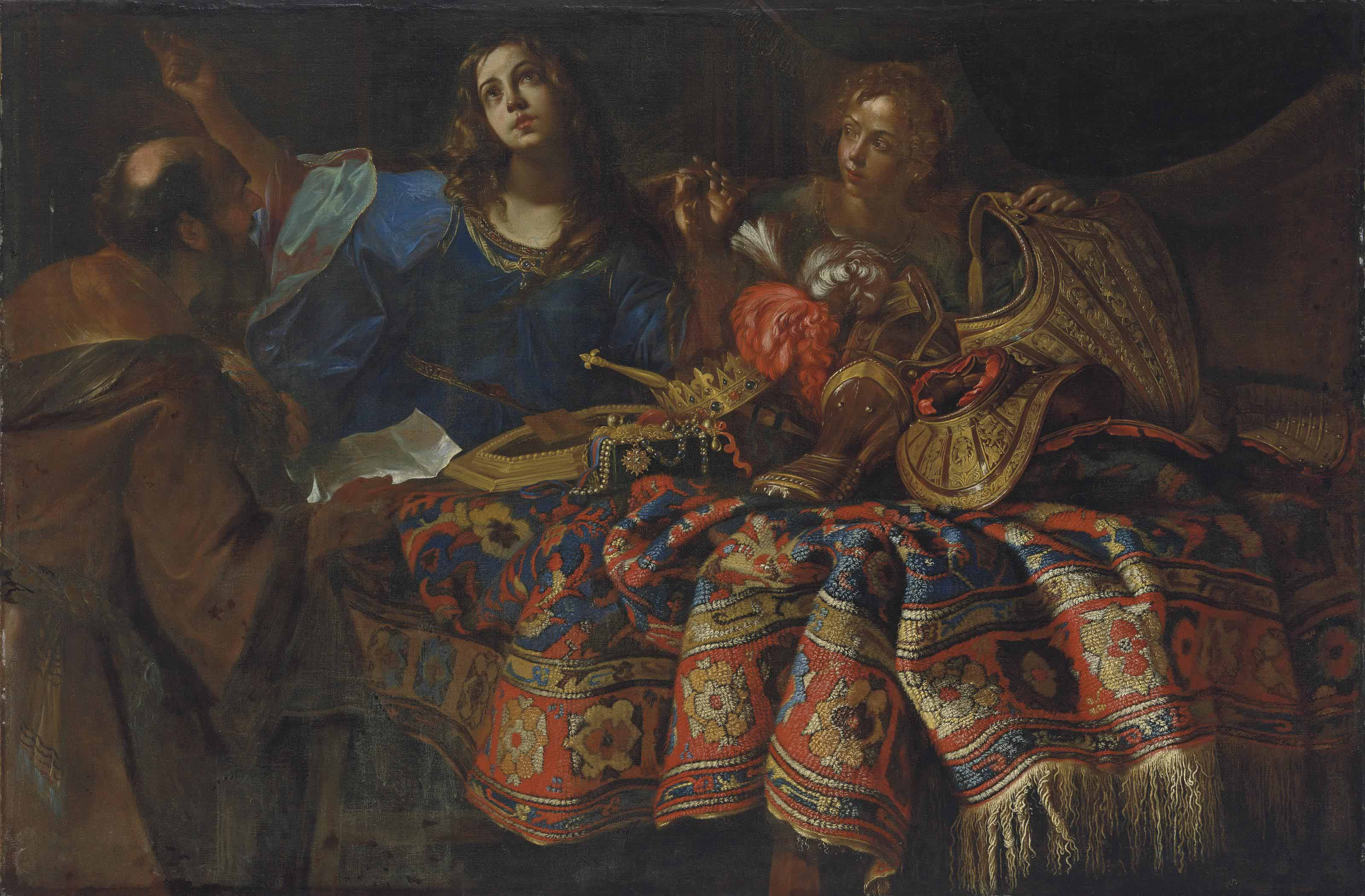 An allegory of the riches