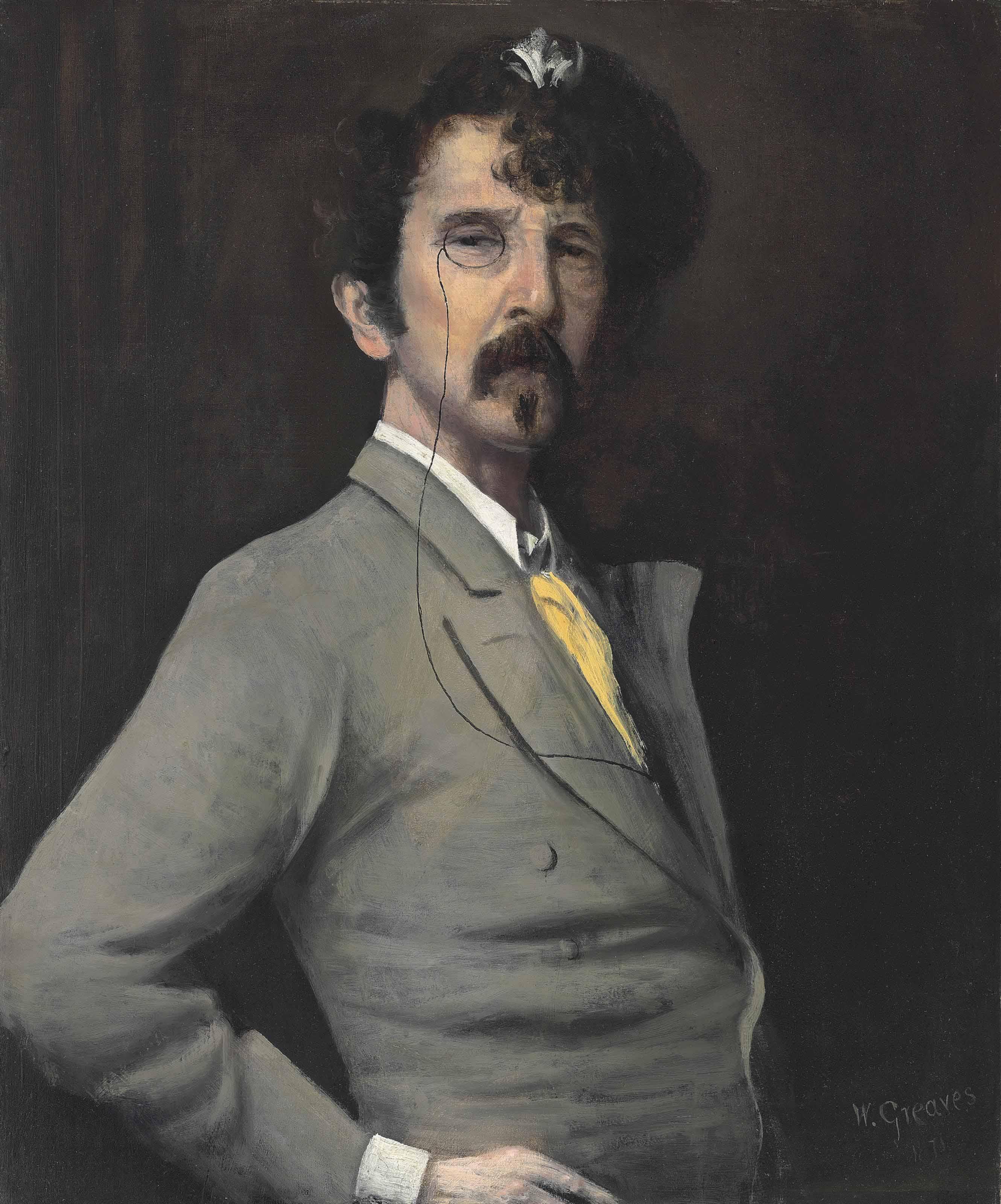 Portrait of James McNeill Whistler