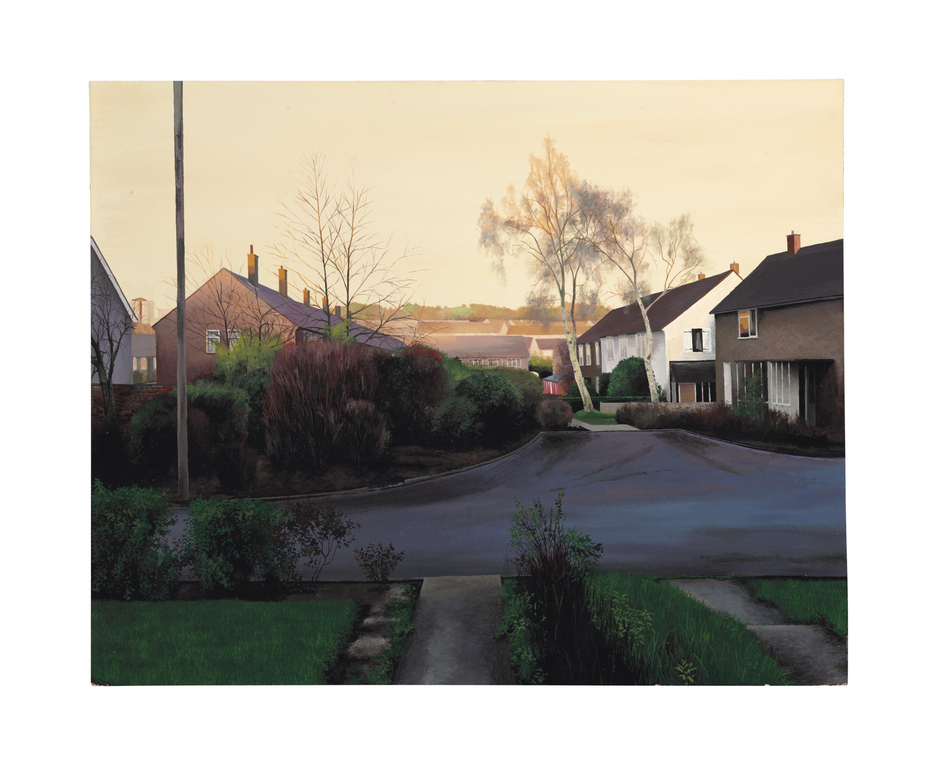 An English Autumn Afternoon (After Ford Madox Brown)