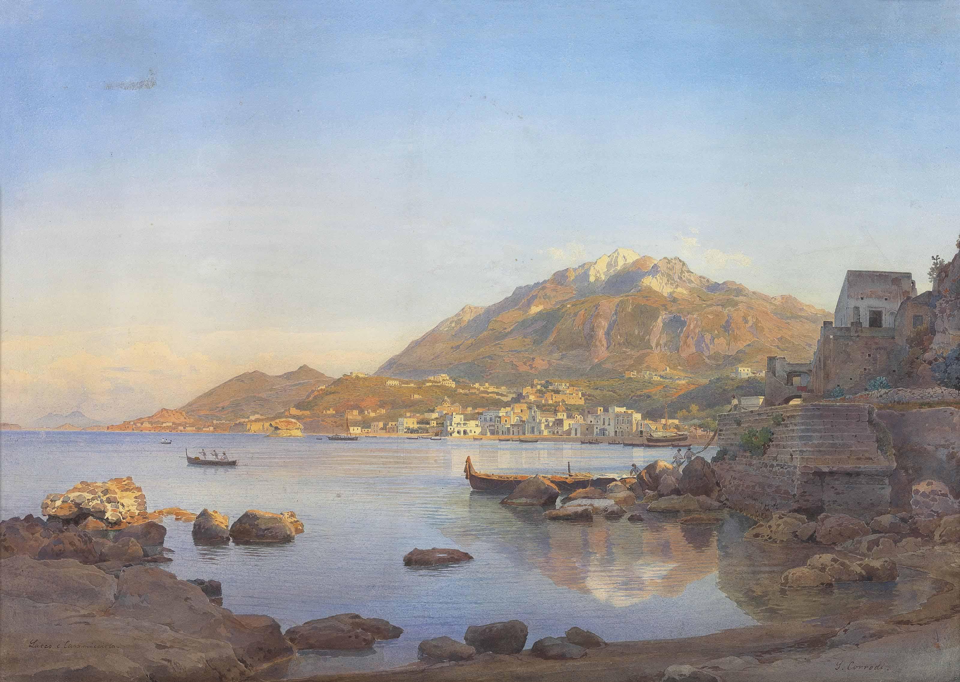 Lacco Ameno and Casamicciola, Ischia