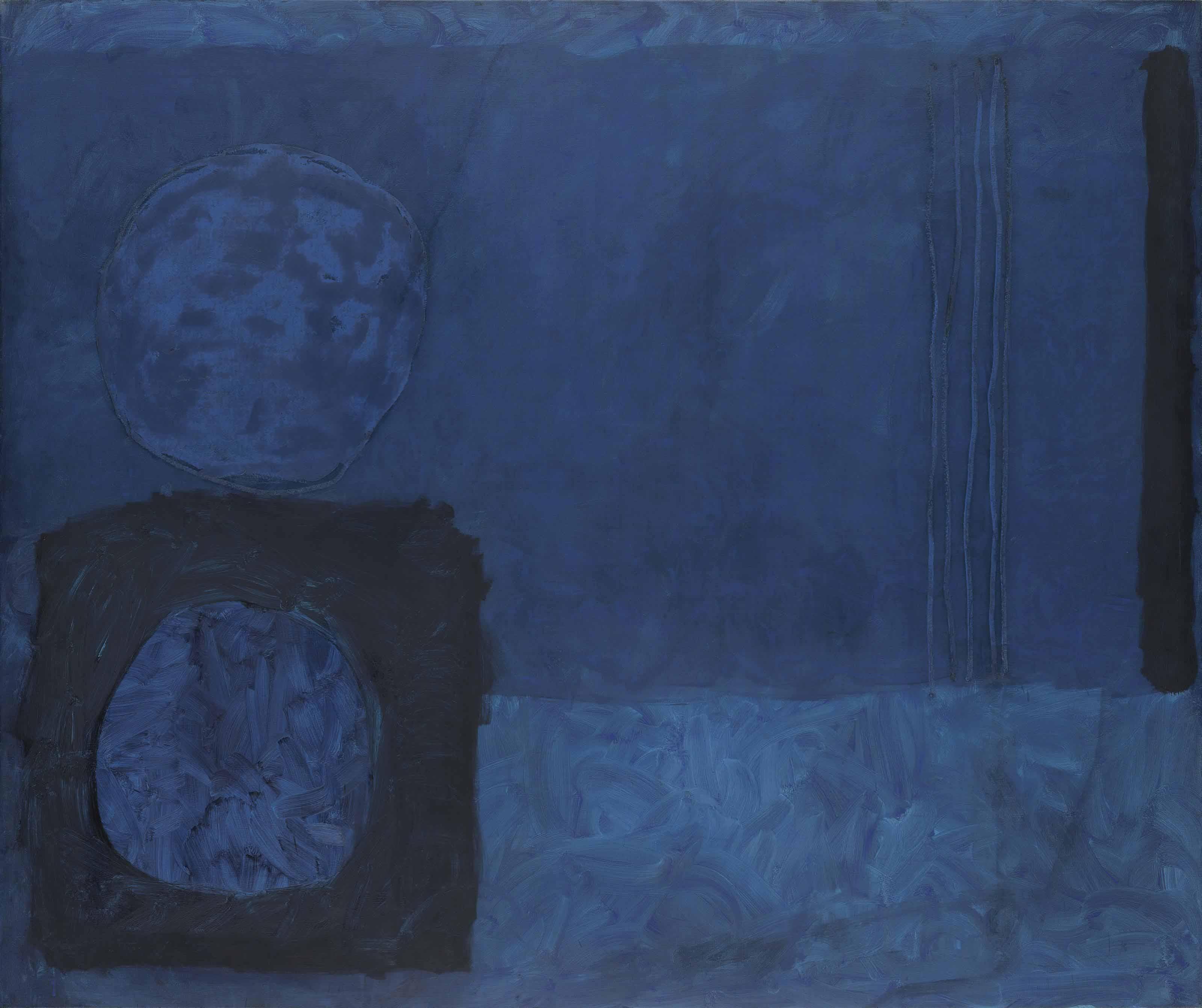Blue November Painting: Nov 1963