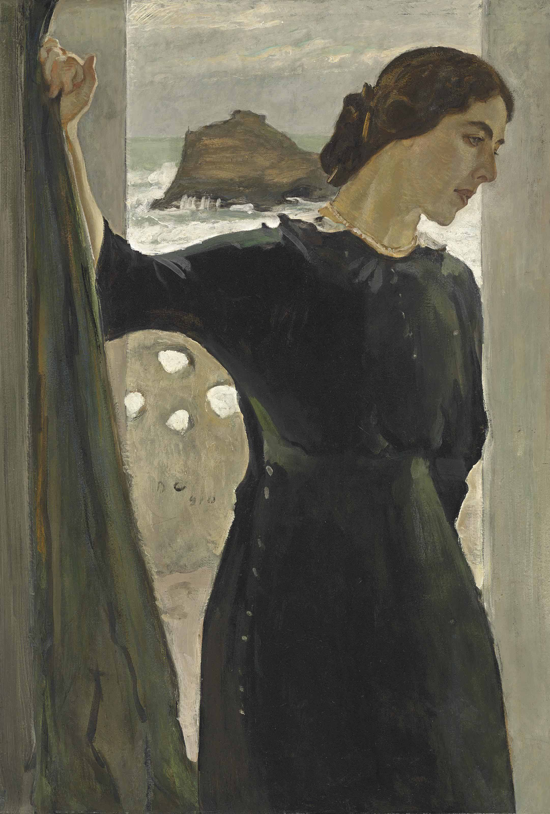 Portrait of Maria Zetlin (1882-1976)